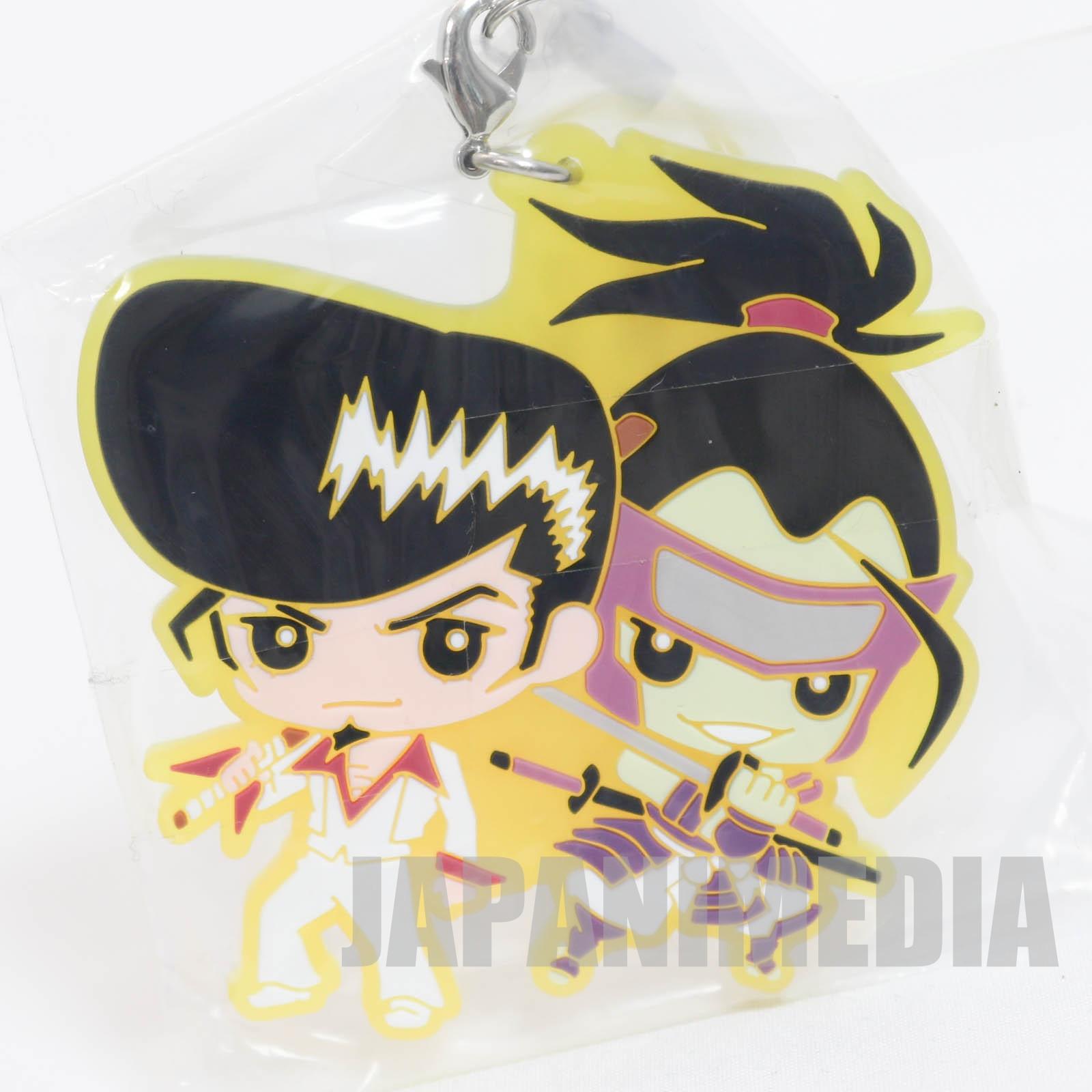 Shaman King Ryunosuke Umemiya & Tokagero Capsule Rubber mascot strap 3 JAPAN MANGA
