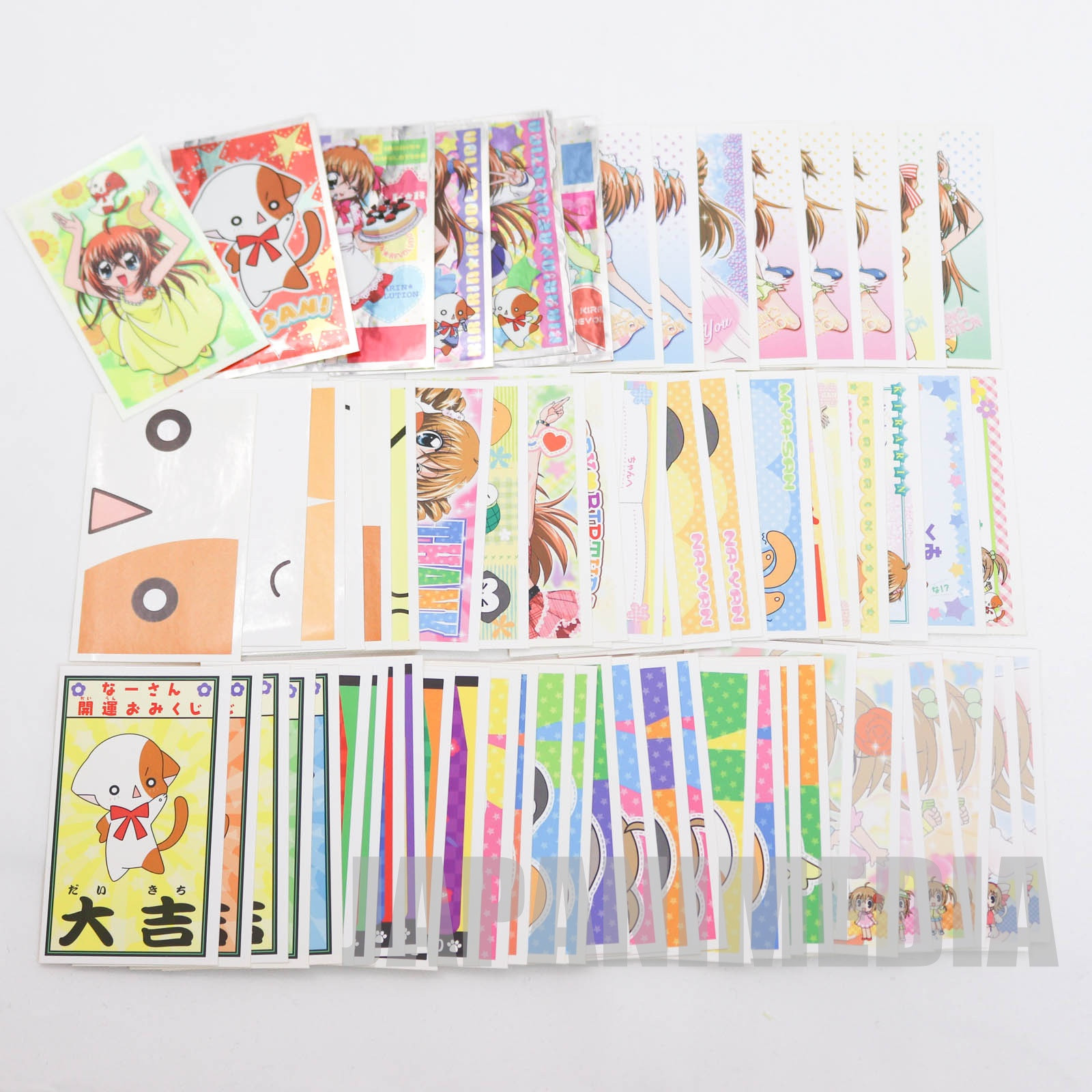 Kirarin Revolution Sticker 69pc Set  JAPAN MANGA