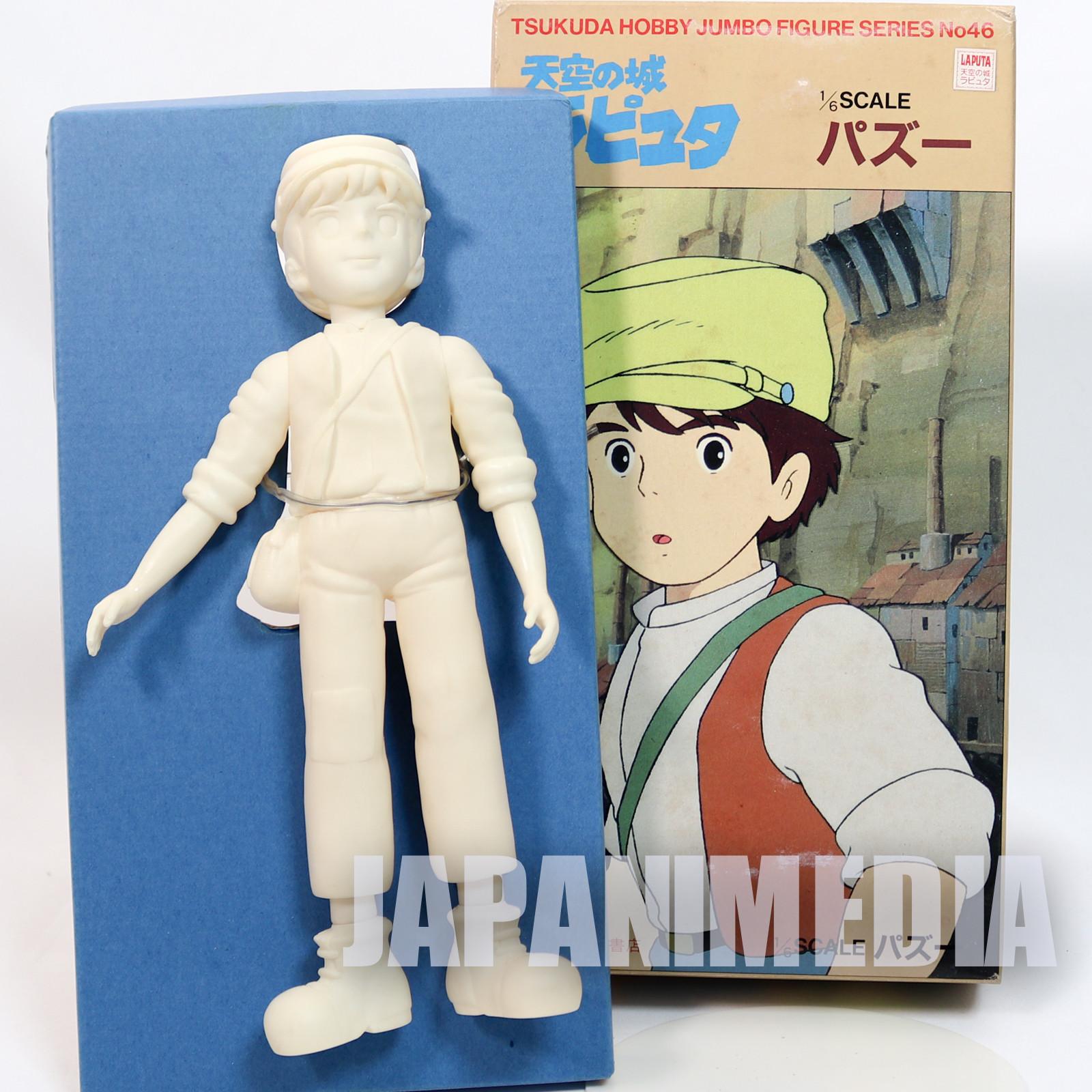 RARE Laputa : Castle in the Sky Pazu 1/6 Model Kit Tsukuda Hobby Ghibli FIGURE