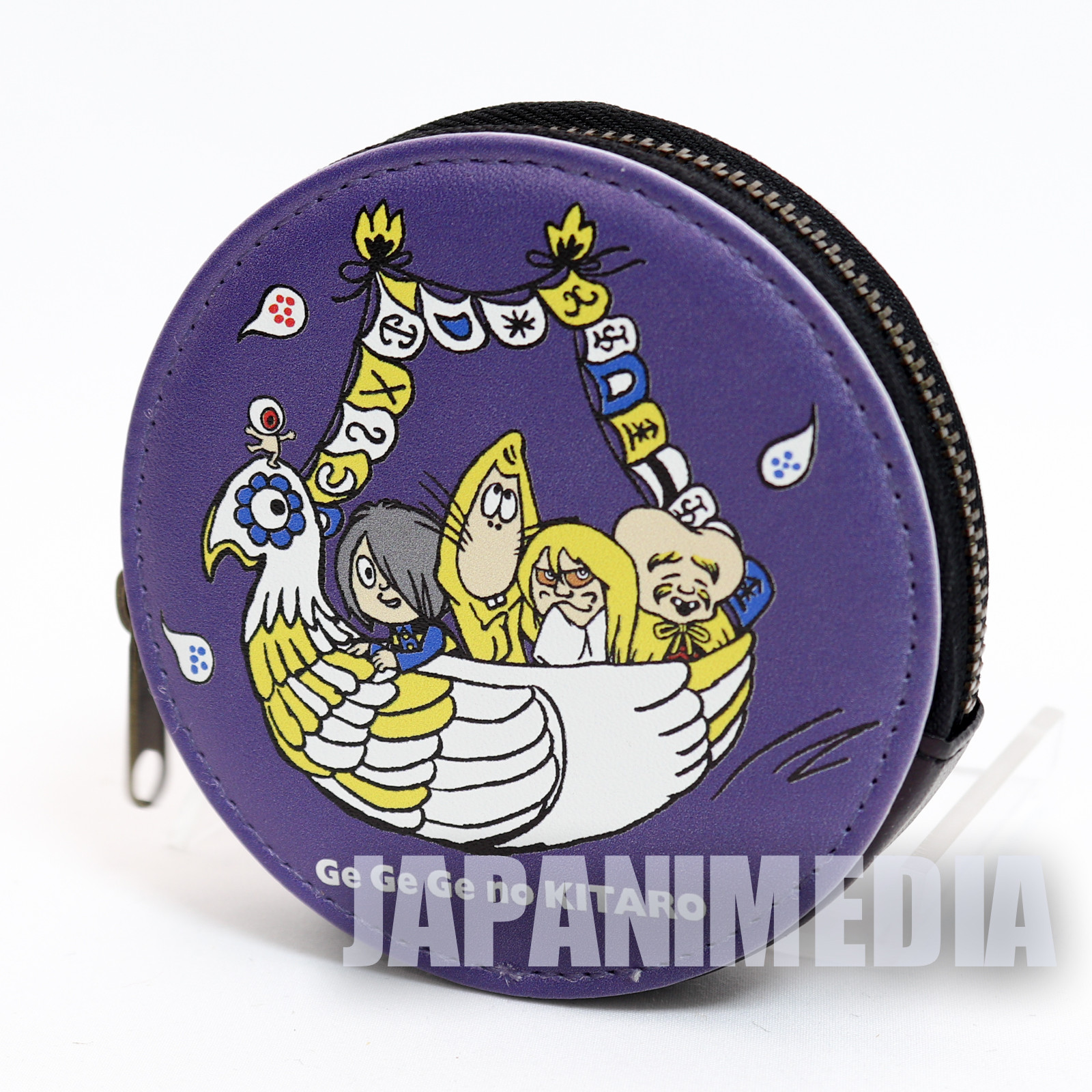 Gegege no Kitaro Yokai Team Coin Case Purse JAPAN ANIME