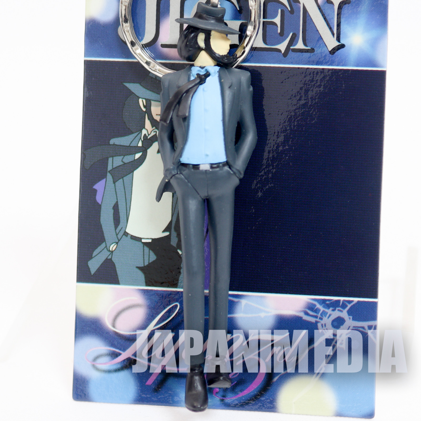 Lupin the Third (3rd) Jigen Daisuke Figure Keychain Opening JAPAN