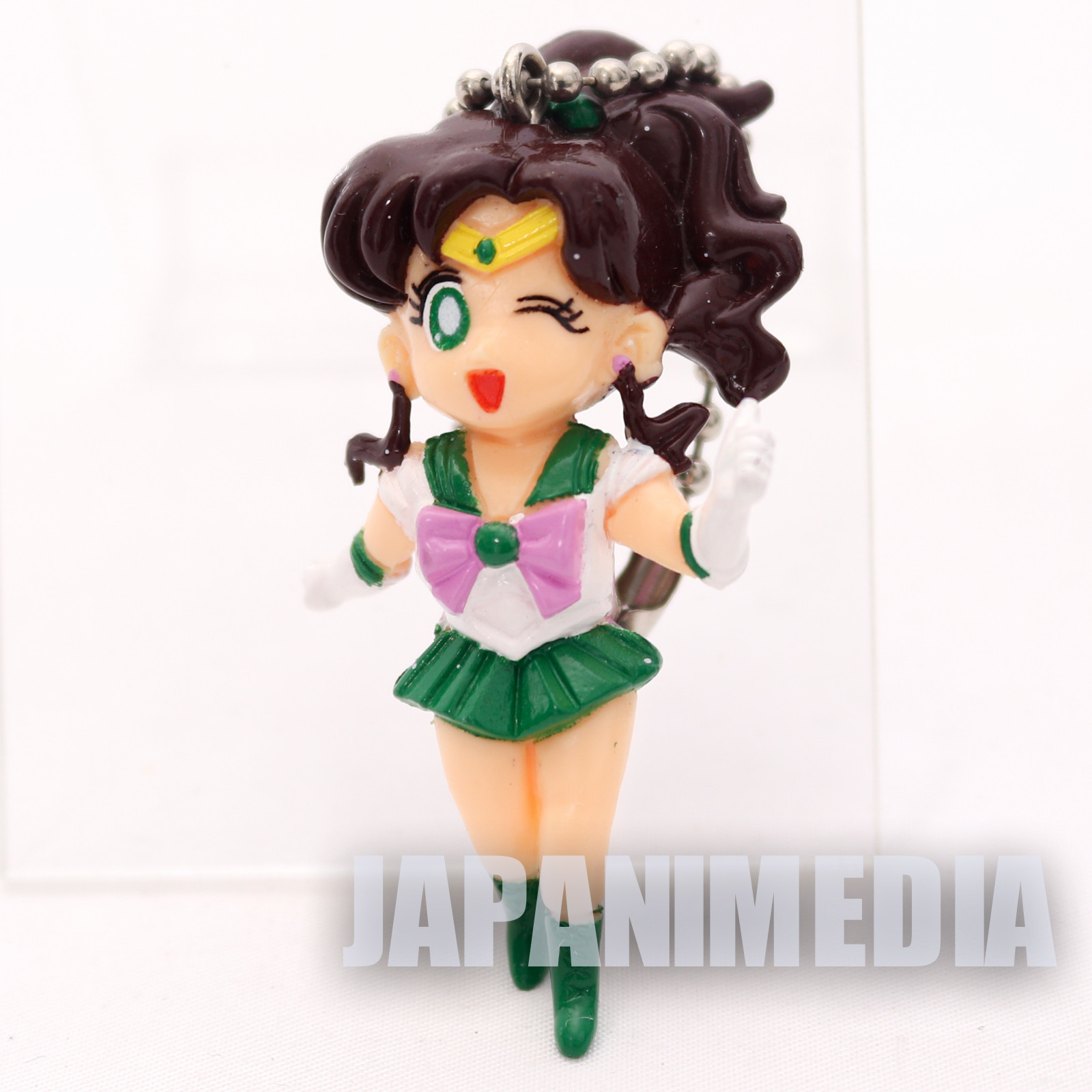 Sailor Moon Jupiter Makoto Kino Figure Ballchain JAPAN ANIME MANGA