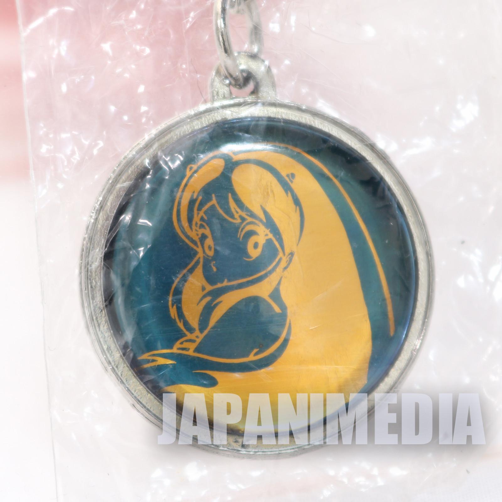 Retro RARE! Urusei Yatsura Metal Mascot Keychain JAPAN ANIME RUMIKO TAKAHASHI 2