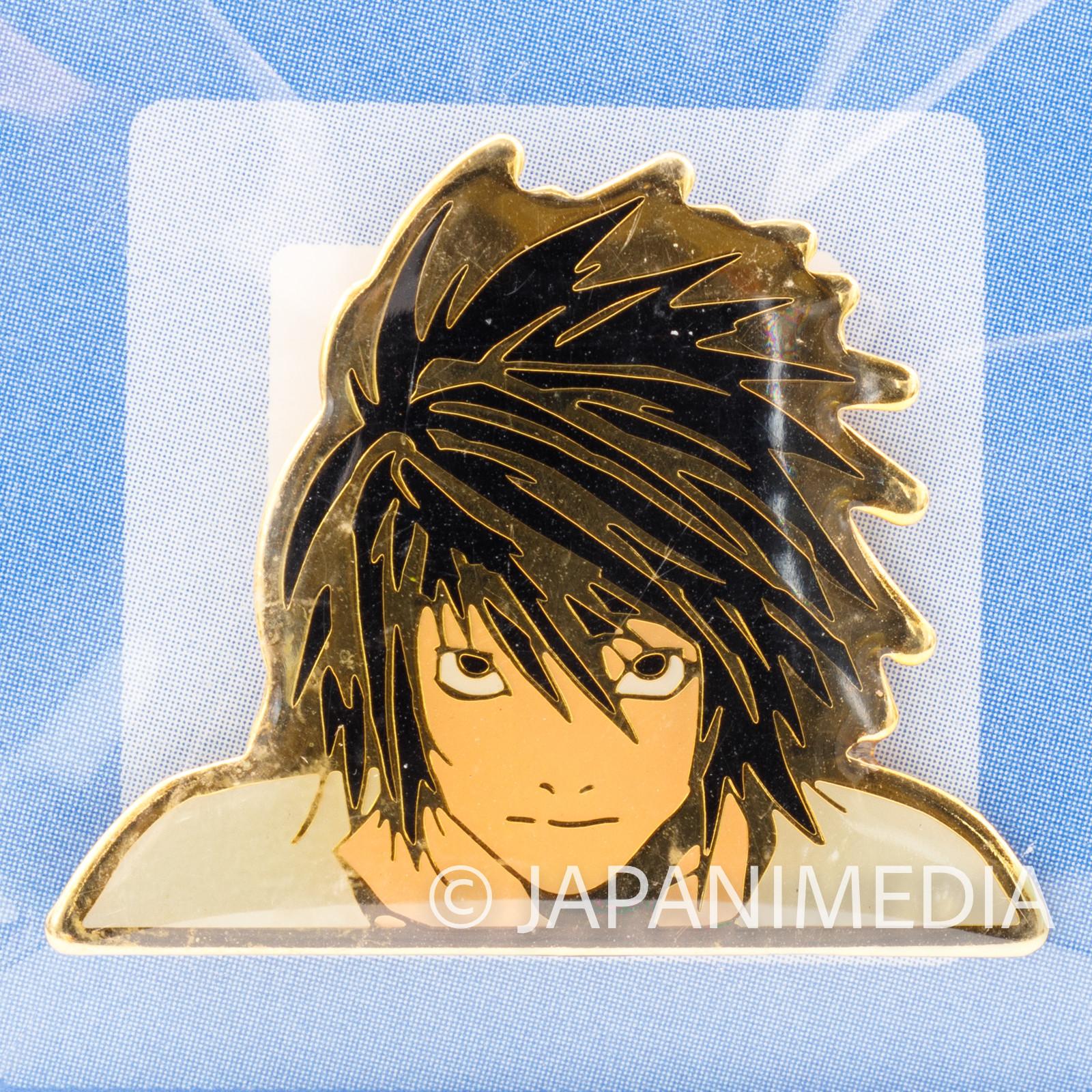 Death Note L Ryuzaki Metal Pins JAPAN ANIME MANGA