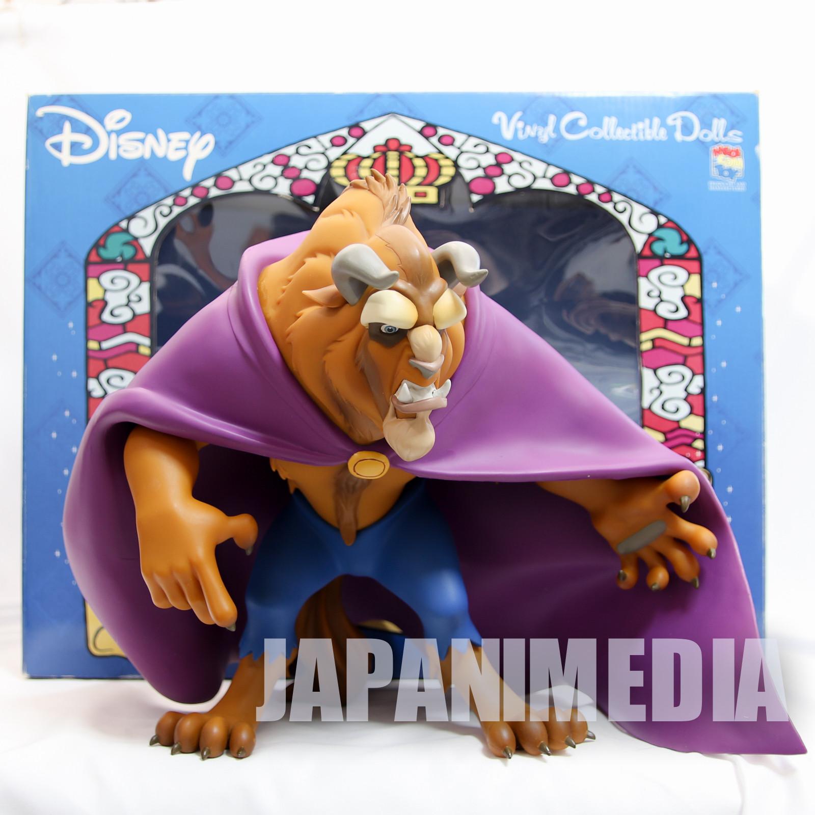 Disney Beauty and the Beast Figure VCD Medicom Toy JAPAN ANIME