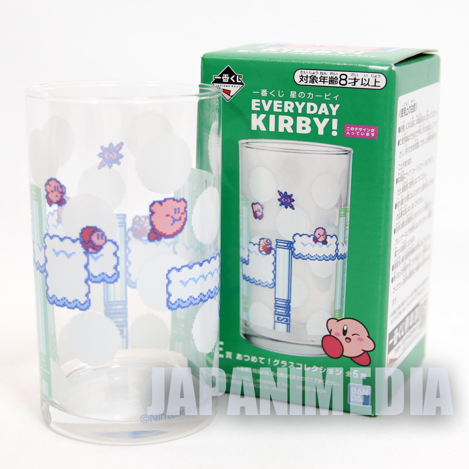 Kirby Super Star Glass #1 Everyday Kirby Banpresto JAPAN GAME NINTNEDO
