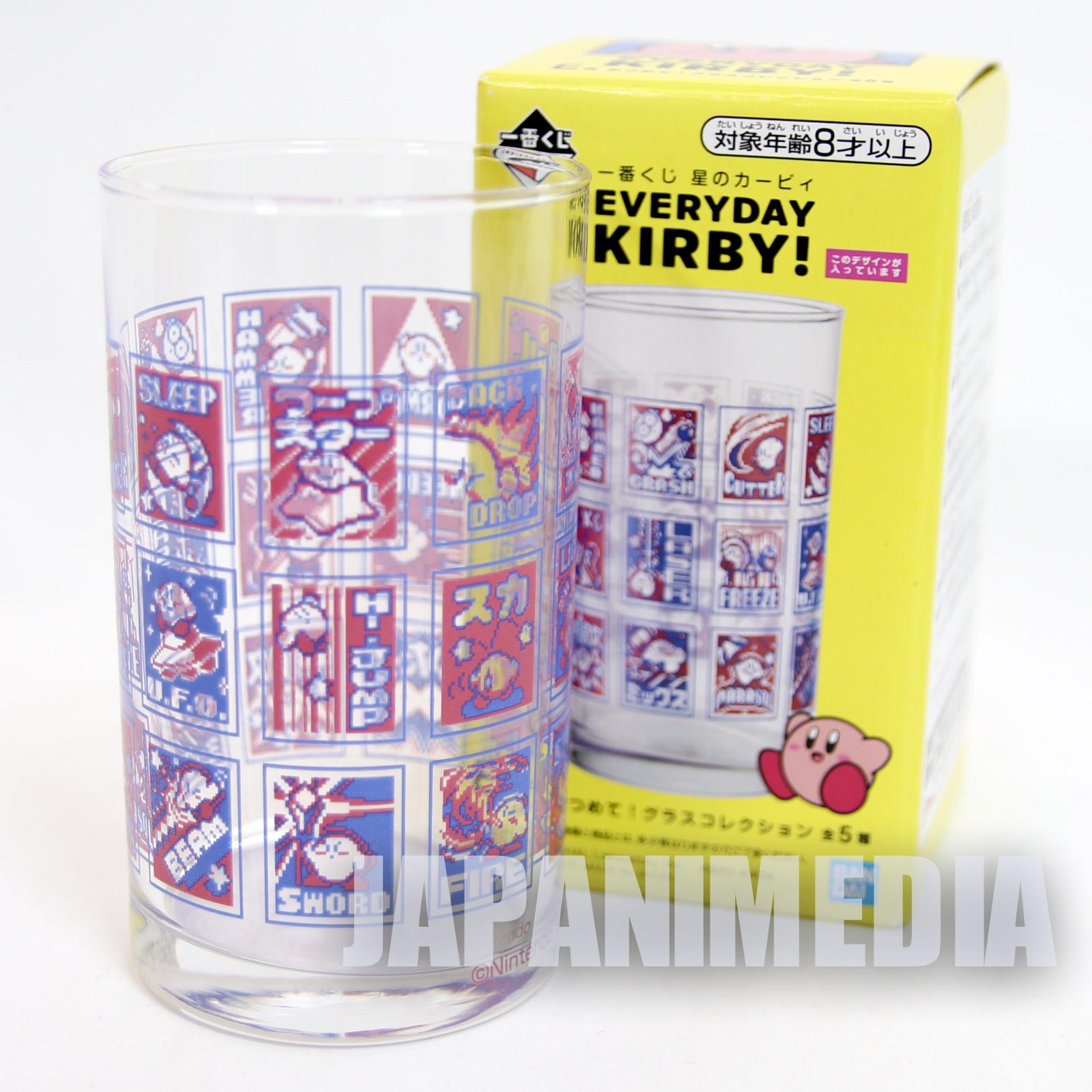 Kirby Super Star Glass #2 Everyday Kirby Banpresto JAPAN GAME NINTNEDO