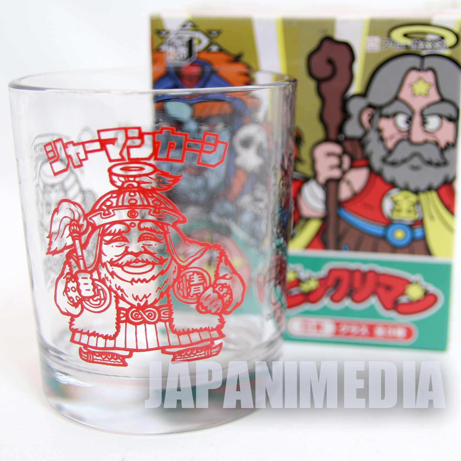 Bikkuriman Glass Shaman Khan ver. Furyu JAPAN ANIME