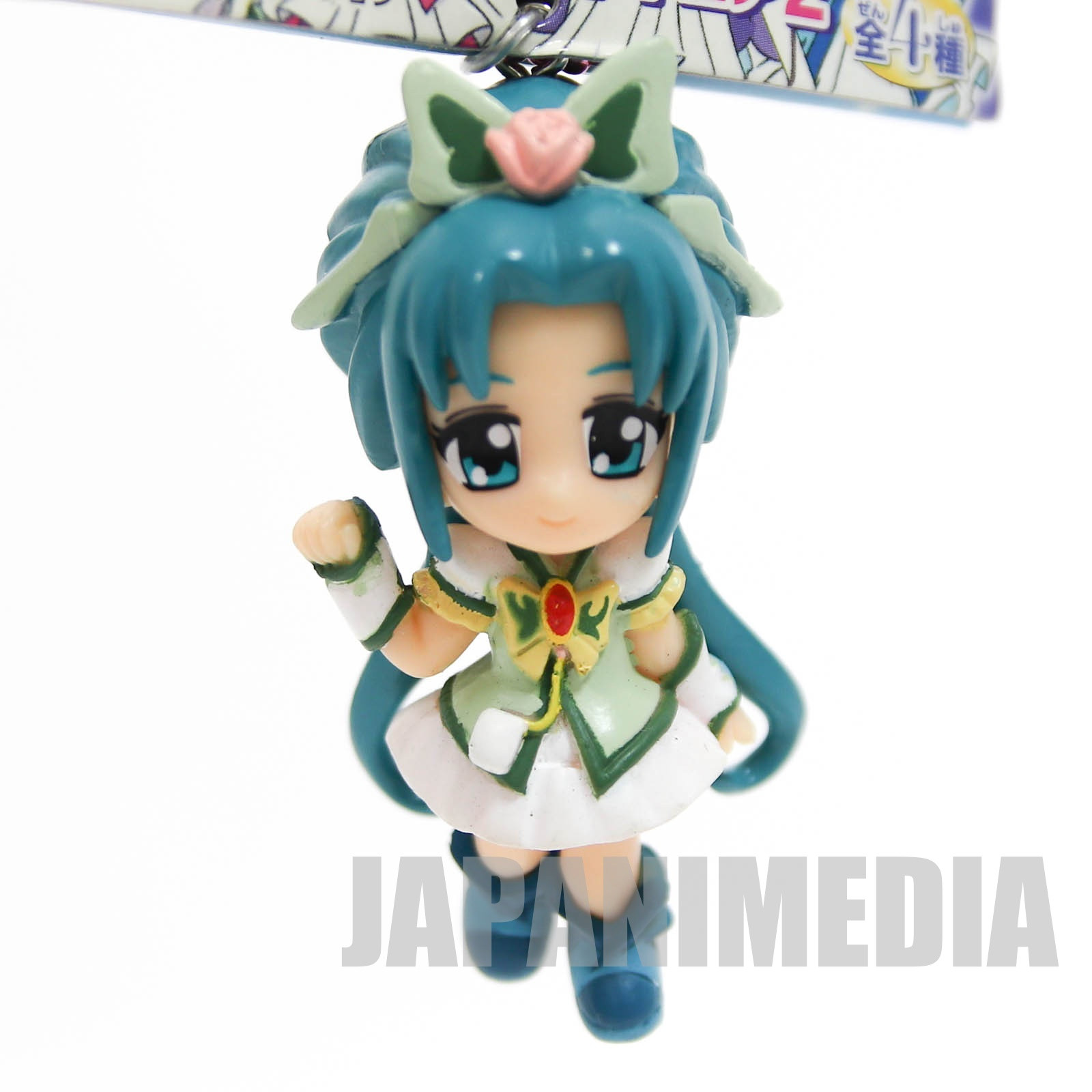 Yes! PreCure 5 Go Go! Cure Mint Figure Ball Keychain 2 JAPAN ANIME