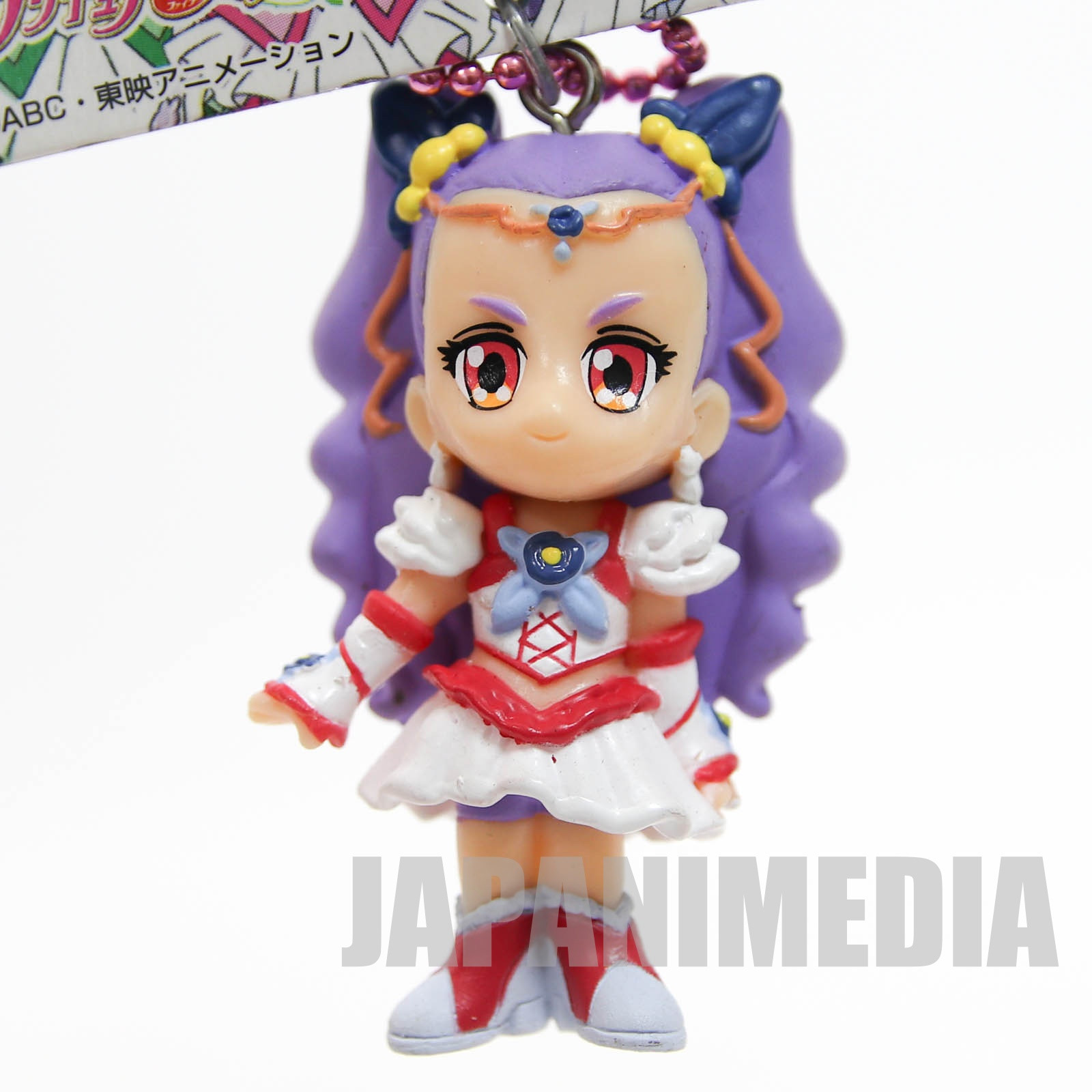 Yes! PreCure 5 Go Go! Milky Rose Figure Ball Keychain 2 JAPAN ANIME