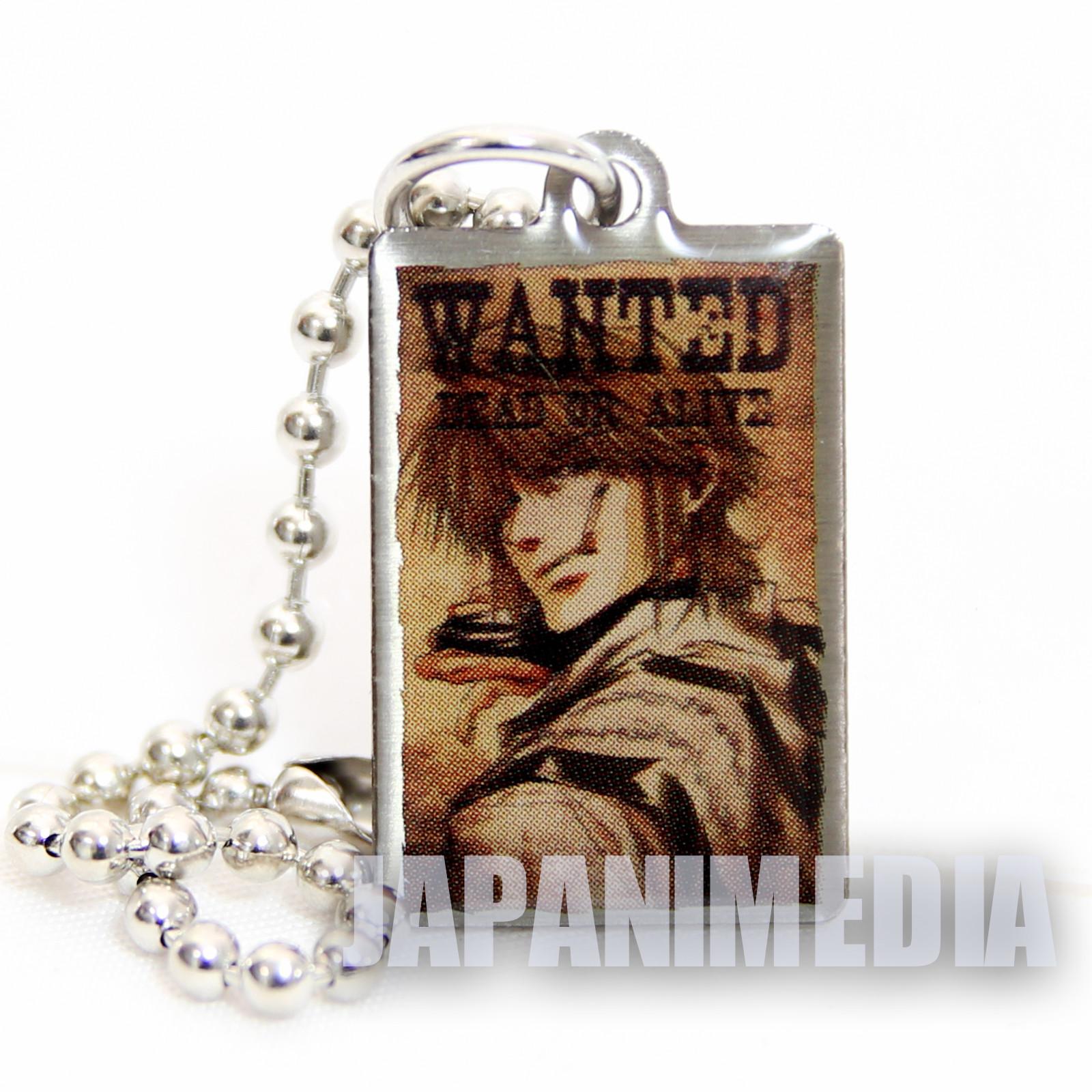 Gensomaden SAIYUKI Genjo Sanzo Small Metal Plate Ballchain JAPAN ANIME MANGA
