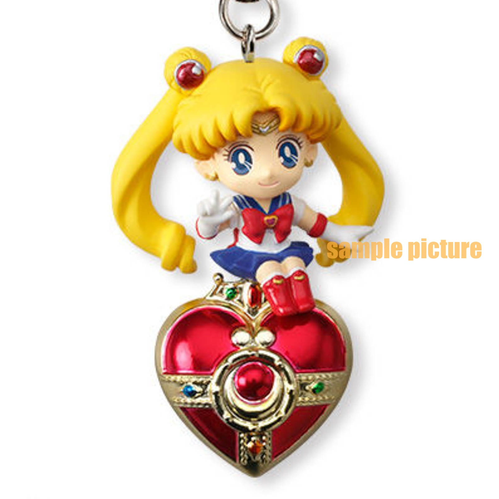 Sailor Moon Sailor Moon Twinkle Dolly 2 Figure Strap JAPAN ANIME