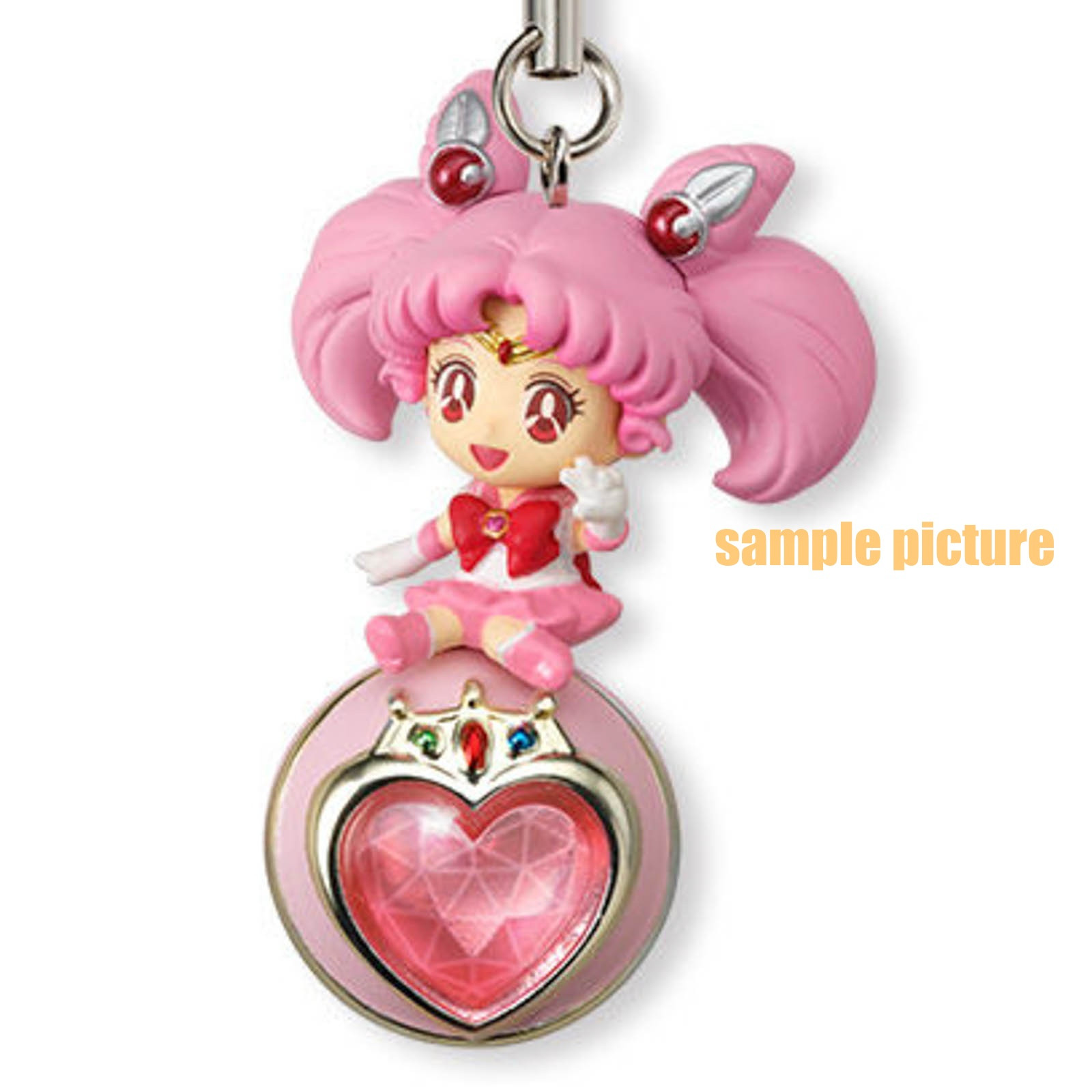 Sailor Moon Sailor Chibi Moon Twinkle Dolly 2 Figure Strap JAPAN ANIME