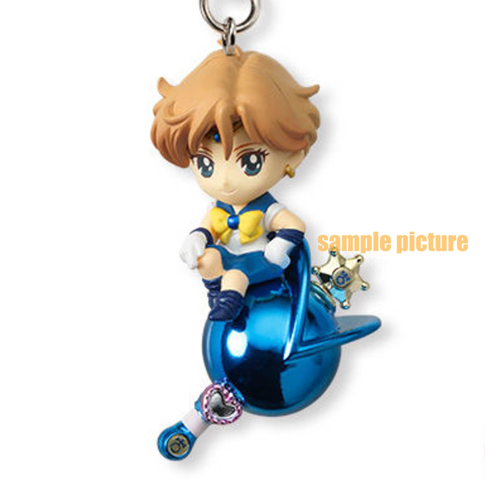 Sailor Moon Sailor Uranus Twinkle Dolly 2 Figure Strap JAPAN ANIME