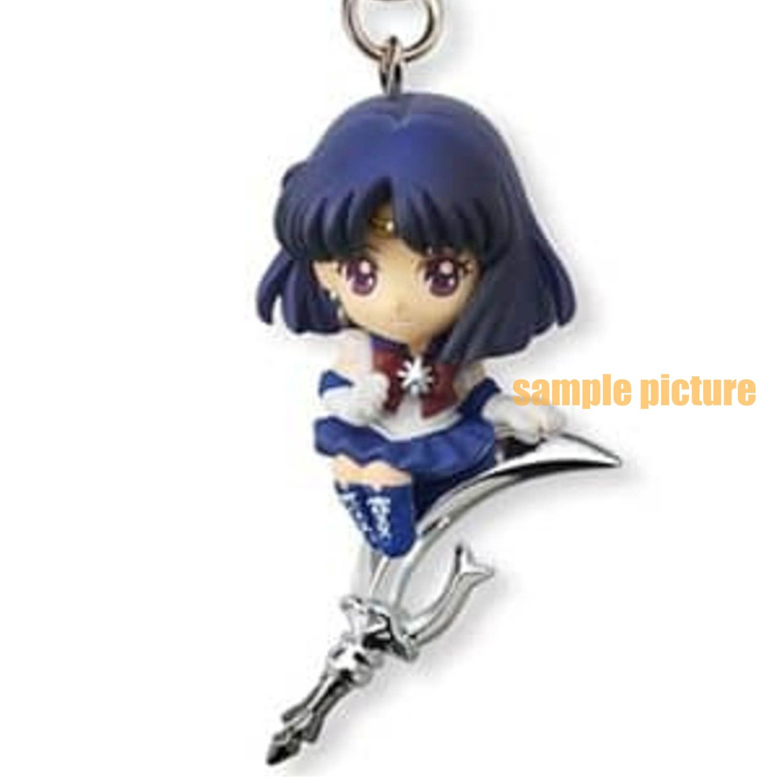 Sailor Moon Sailor Saturn Twinkle Dolly 2 Figure Strap JAPAN ANIME