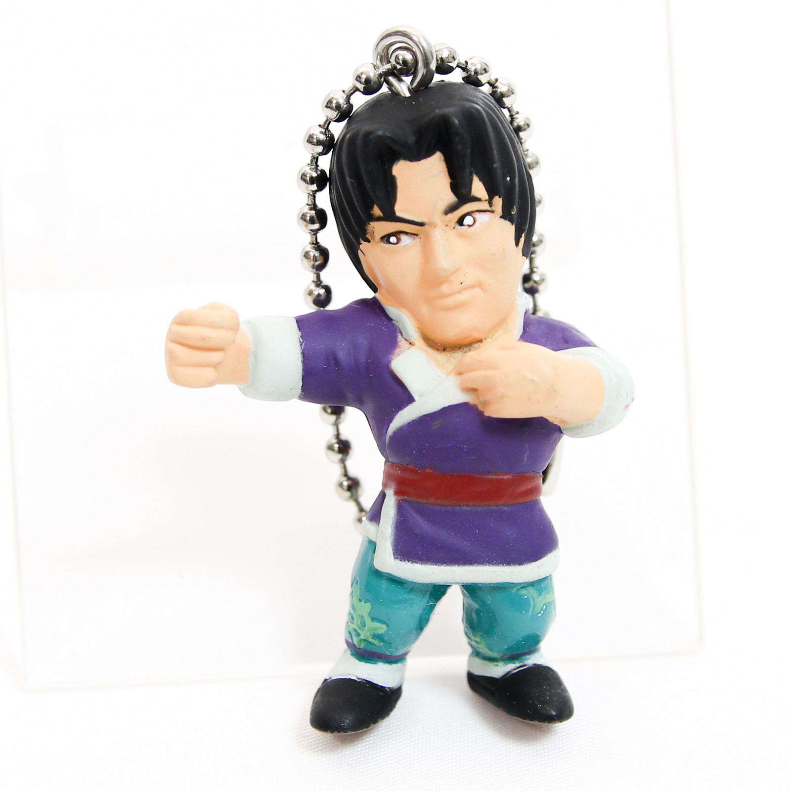 Retro RARE! Tekken Lei Wulong Figure Keychain Namco JAPAN GAME 2
