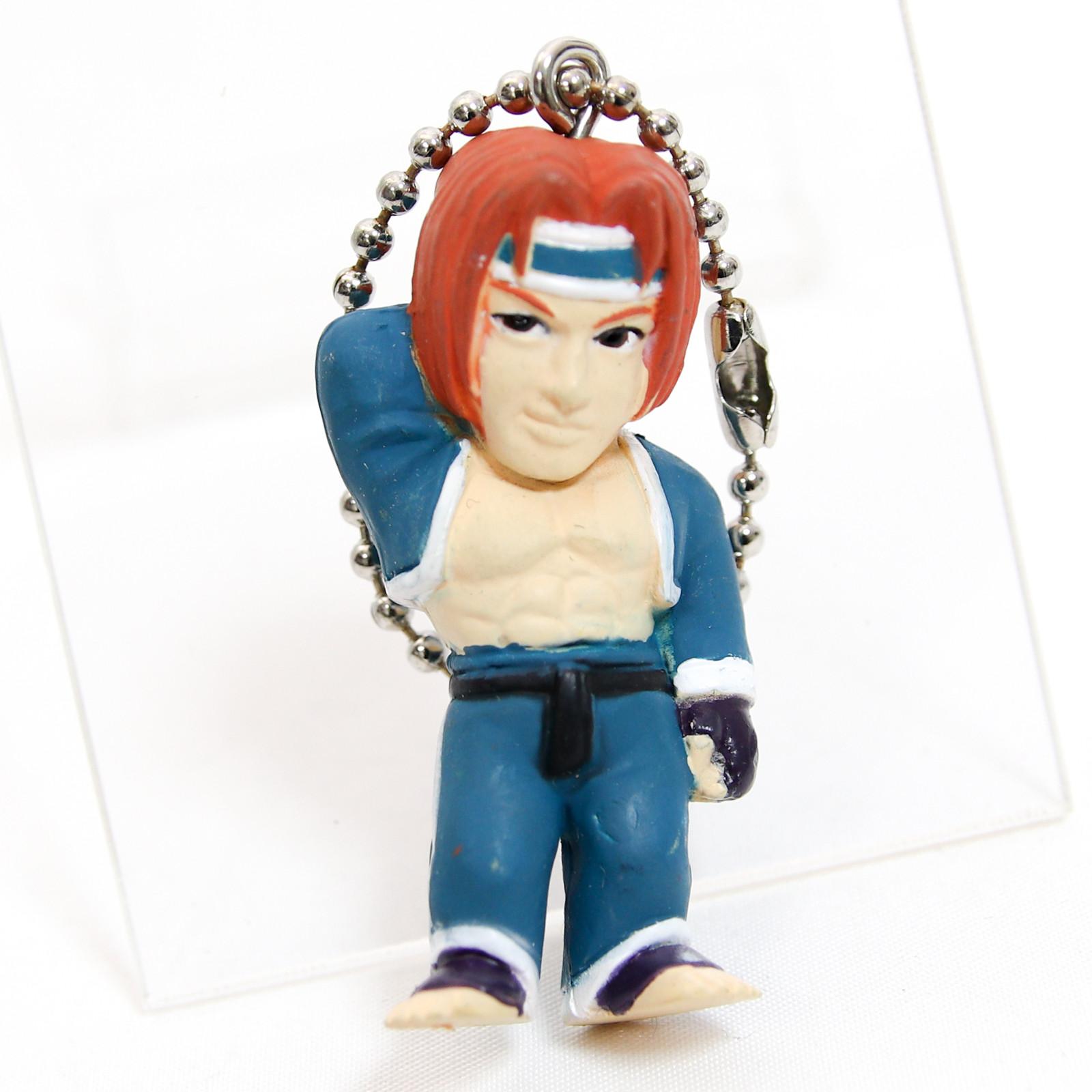 Retro RARE! Tekken Hwoarang Figure Keychain Namco JAPAN GAME
