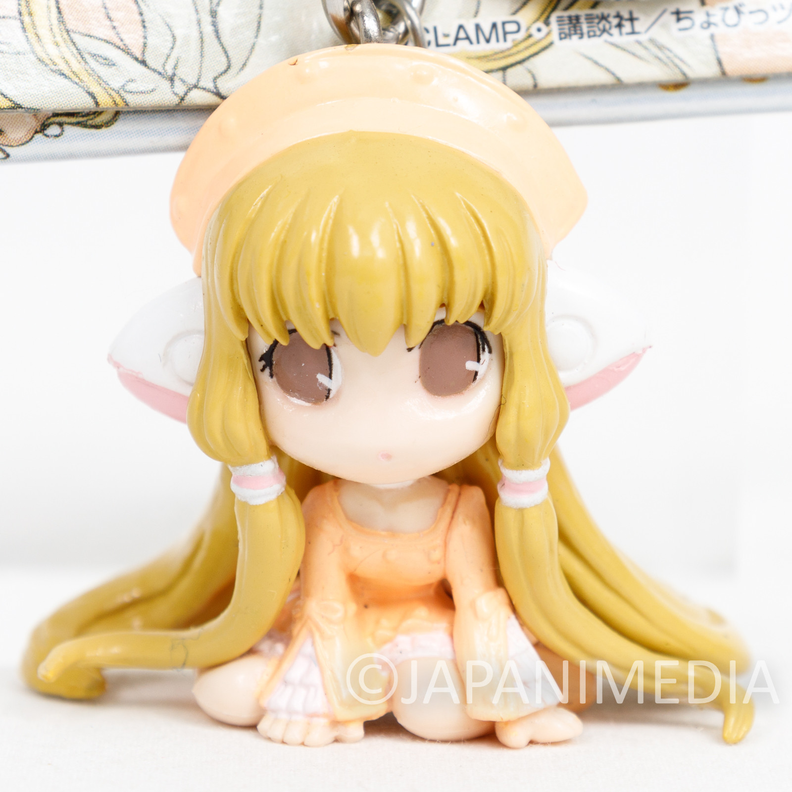 Chobits Elda Chii Figure Keychain CLAMP JAPAN ANIME MANGA