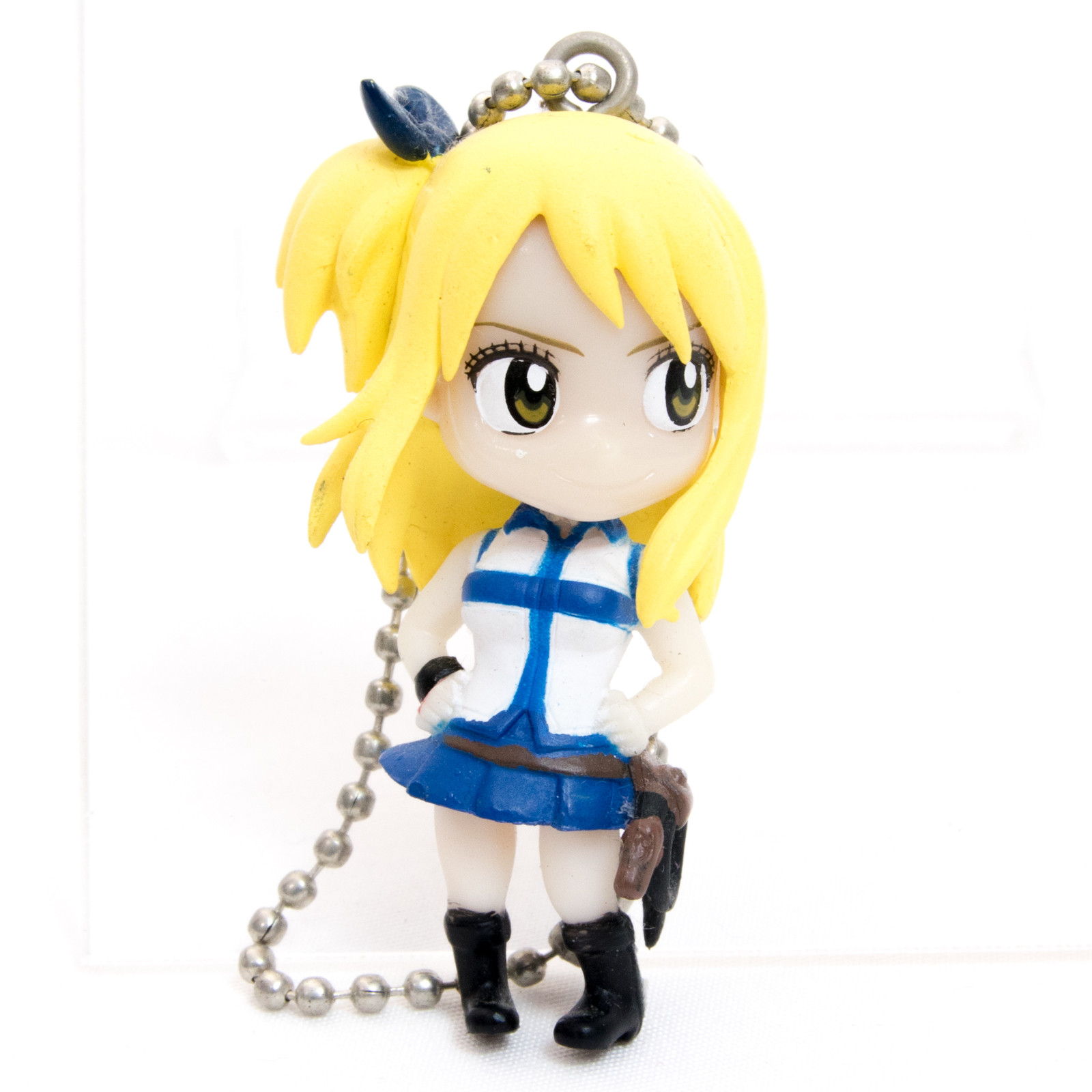 FAIRY TAIL Fairy Tail Lucy Heartfilia Figure Ballchain JAPAN ANIME