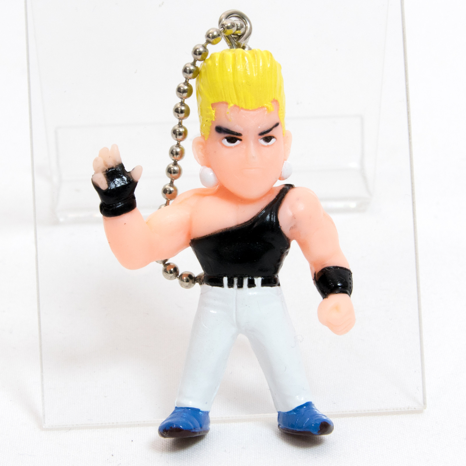 KOF King of Fighters Benimaru Nikaido Figure Keychain SNK JAPAN GAME