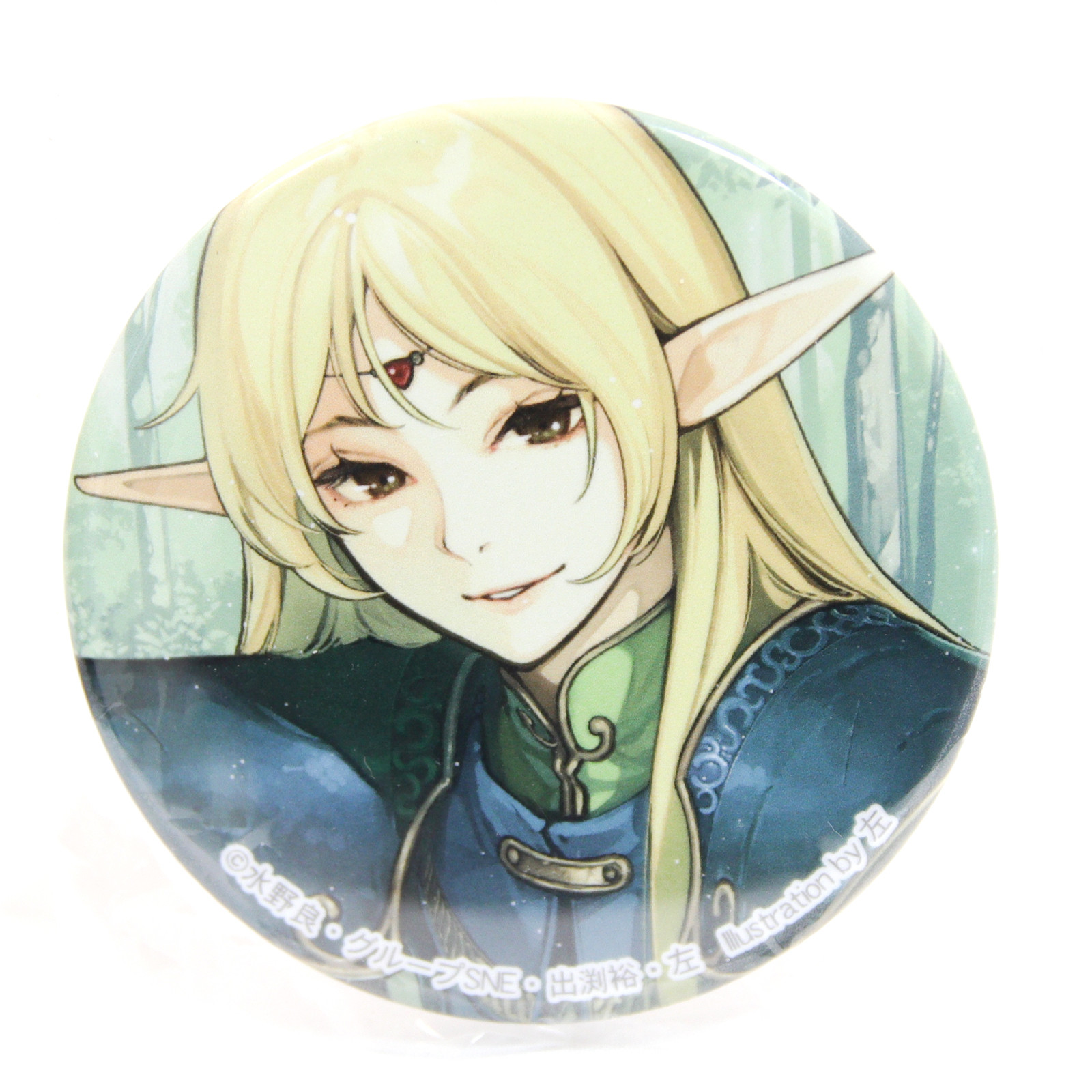 Record of Lodoss War Deedlit Button Can Badge Pins JAPAN ANIME