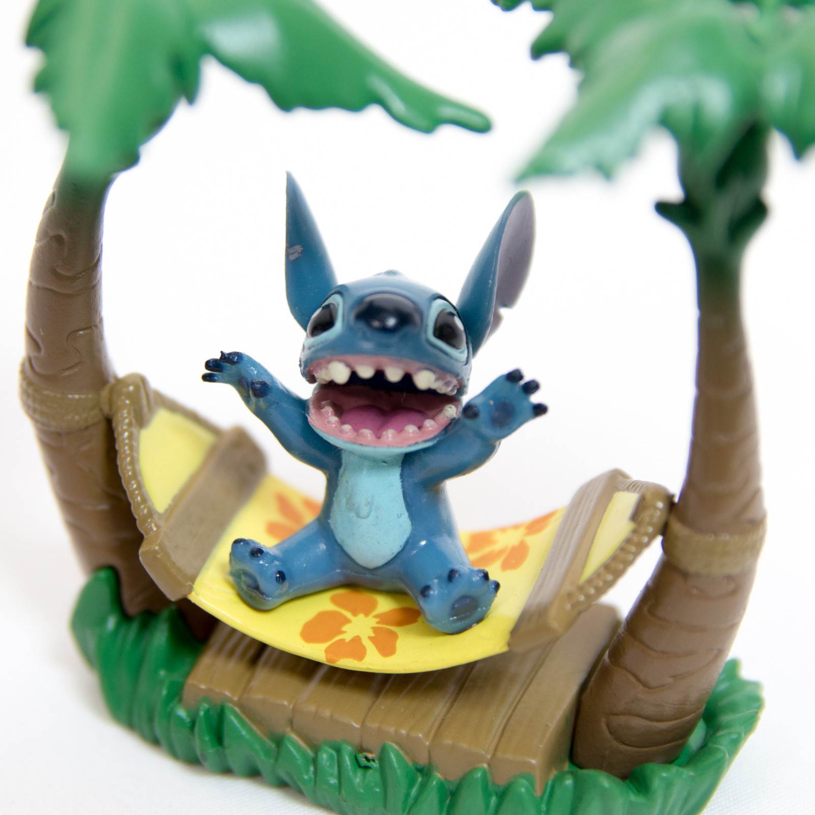 Stitch Swinging Figure Series Hammock ver. F-Toys Disney JAPAN ANIME