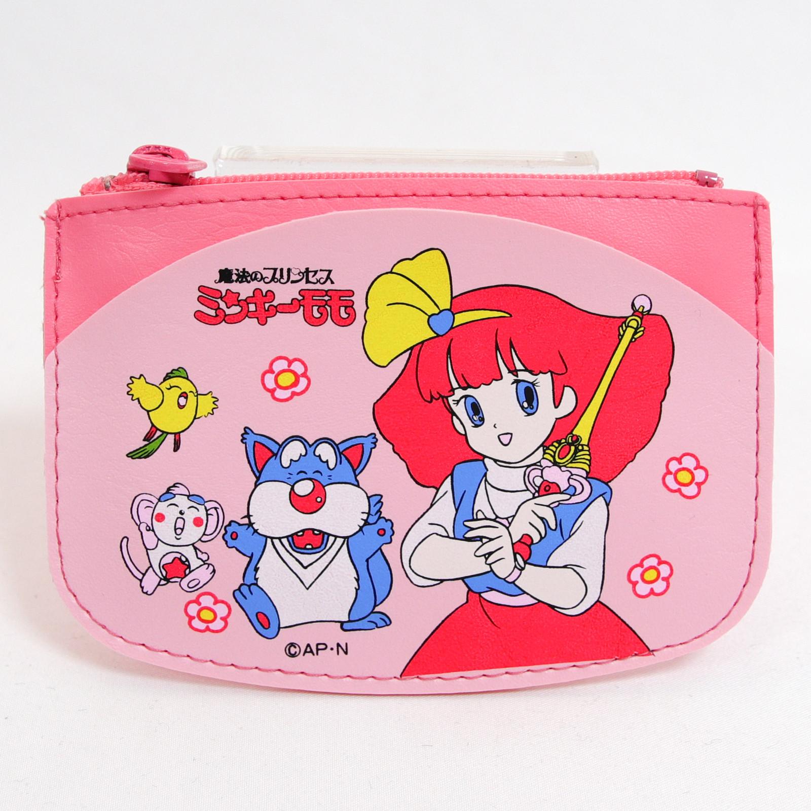 Magical Princess Minky Momo Purse Coin Case Pink ver. JAPAN ANIME