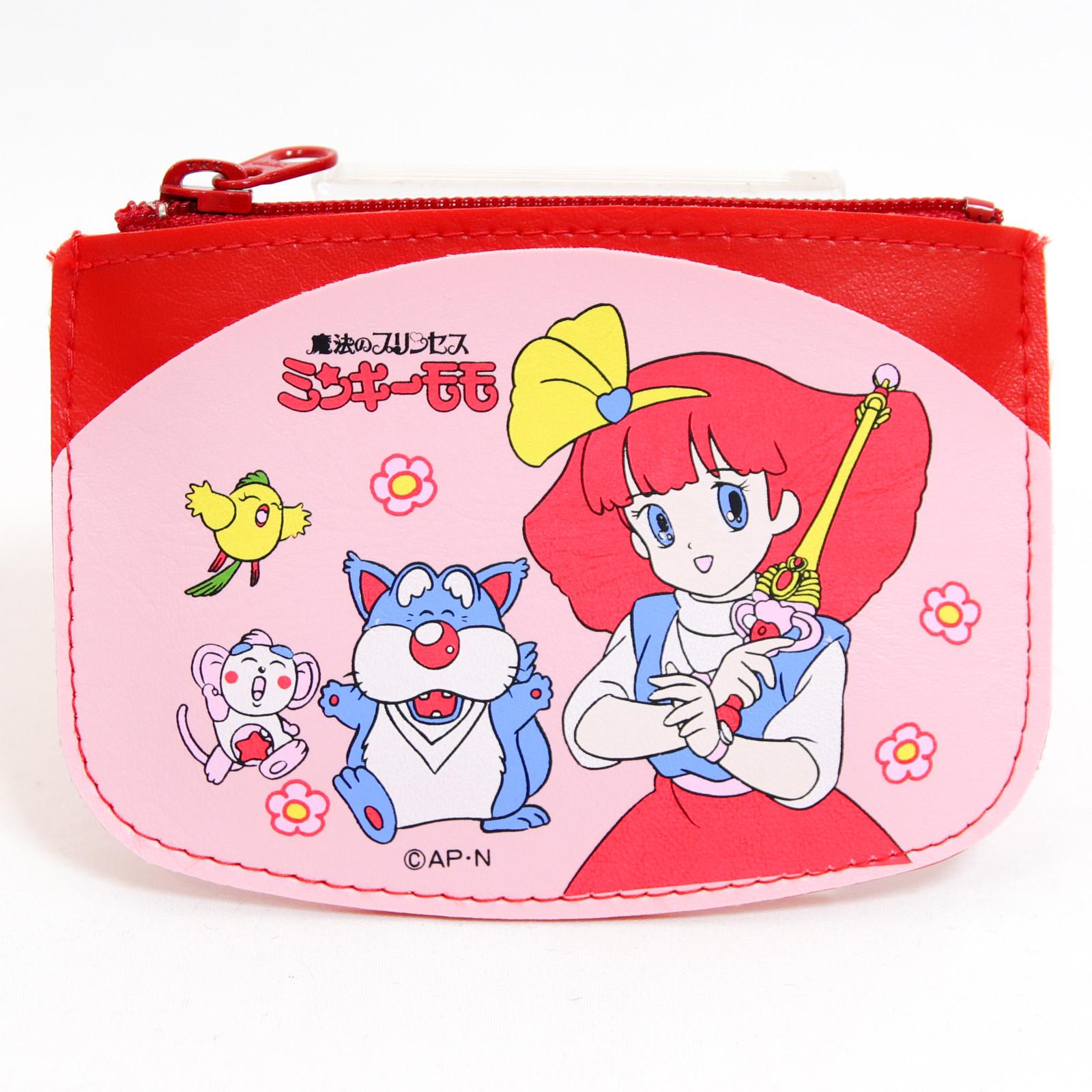 Magical Princess Minky Momo Purse Coin Case Red ver. JAPAN ANIME