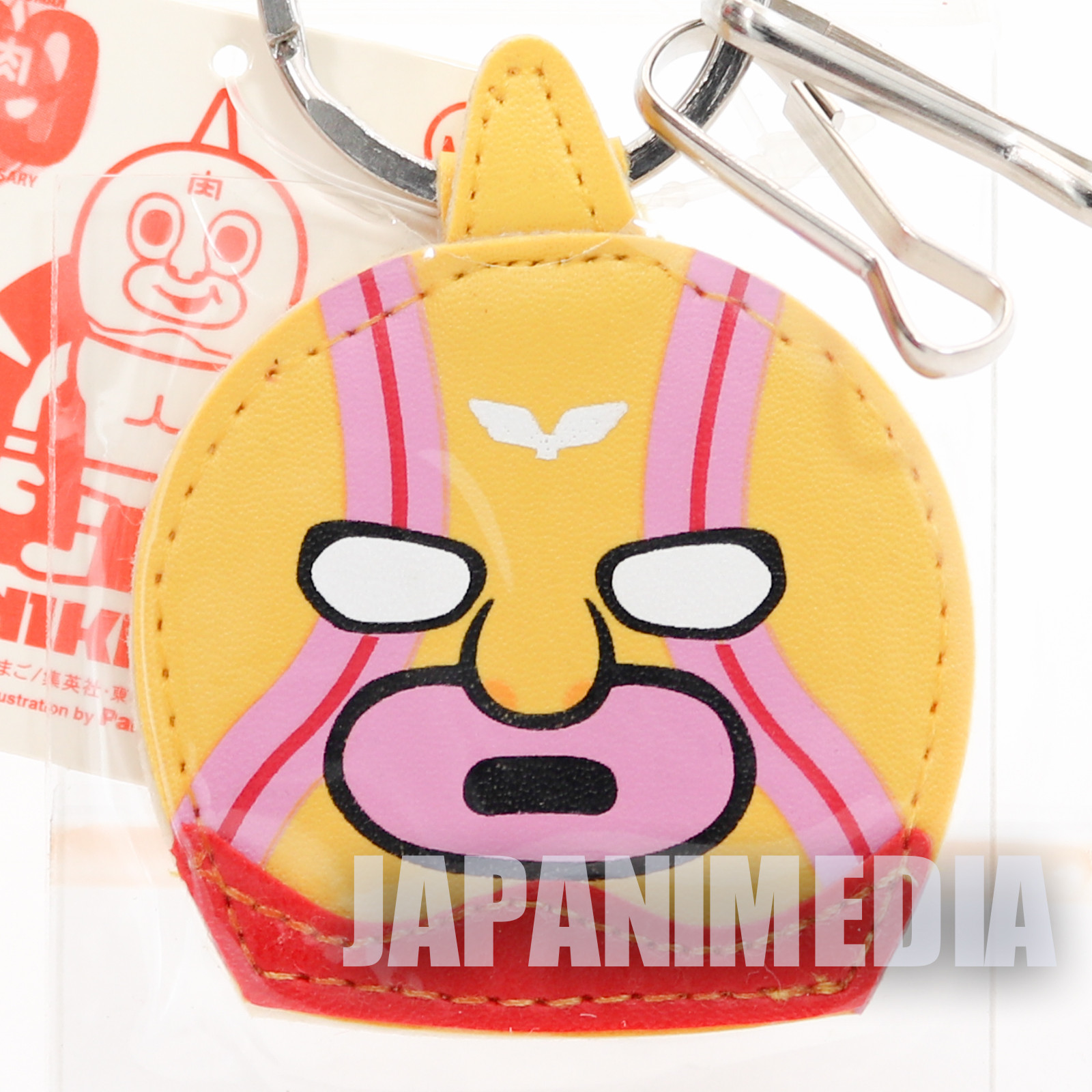 Kinnikuman x Panson Works Super Phoenix Mascot Keychain JAPAN ULTIMATE MUSCLE