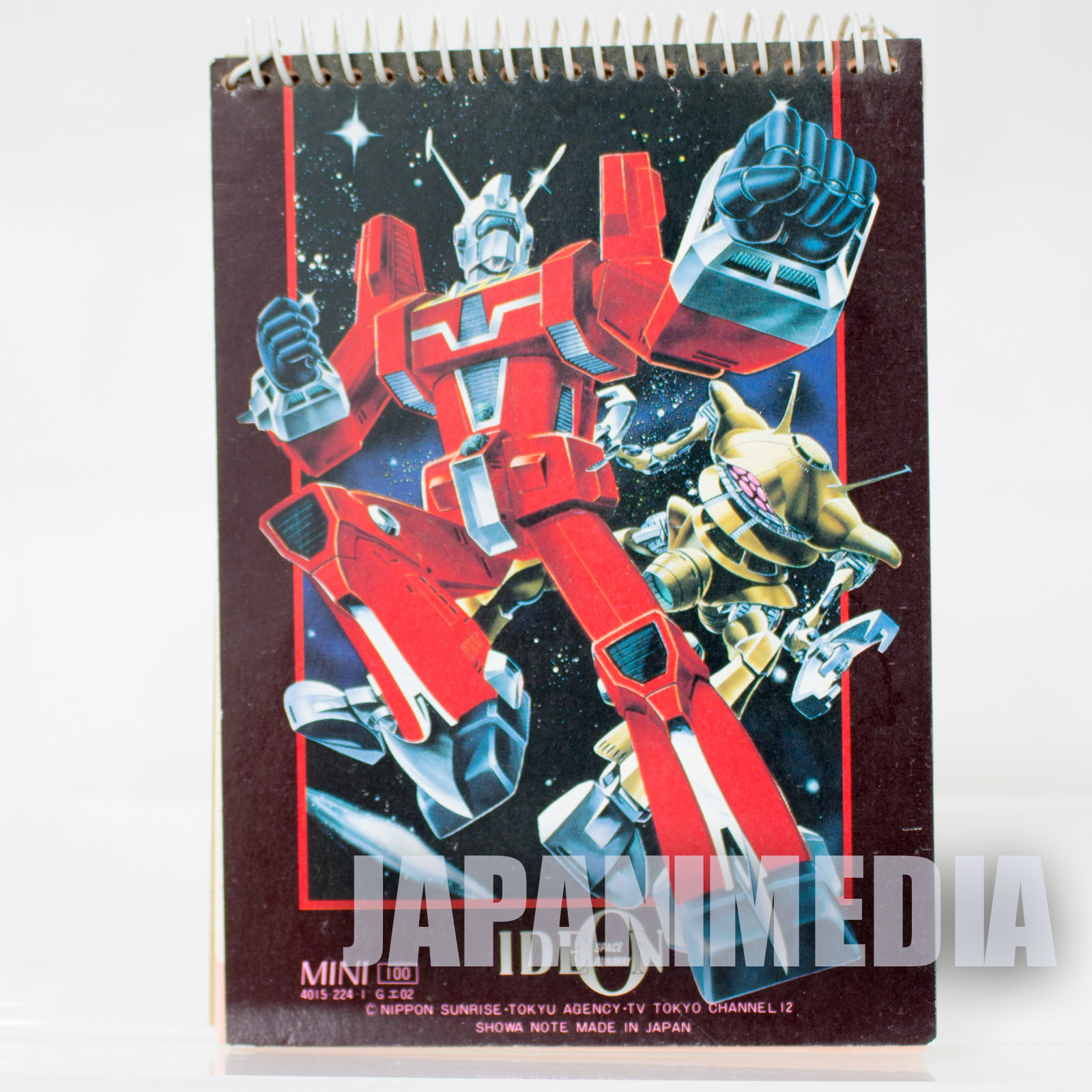 Retro Space Runaway Ideon Mini Memo Pad JAPAN ANIME MANGA