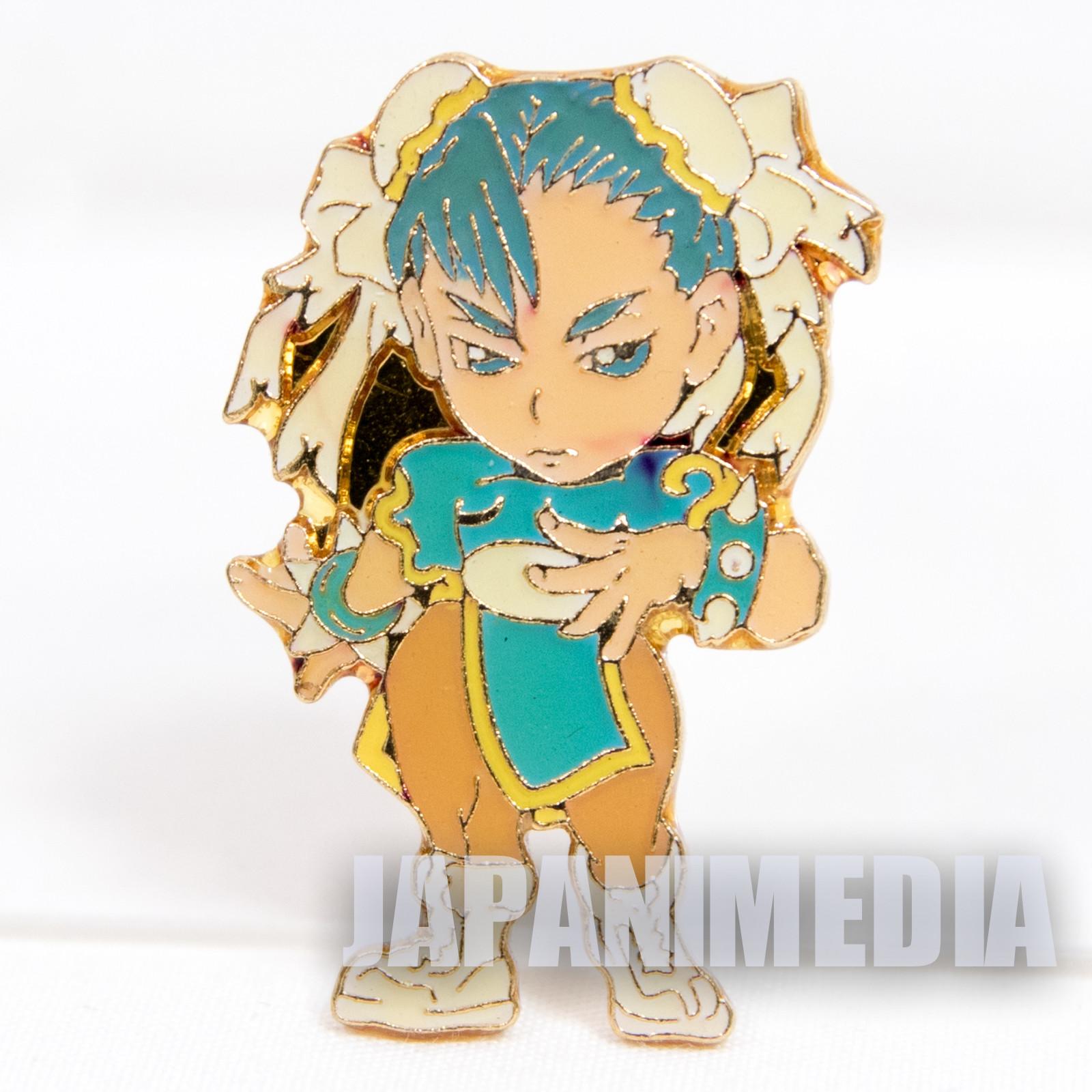 Street Fighter 2 Metal Pins Badge Chun Li Capcom Character JAPAN GAME 6