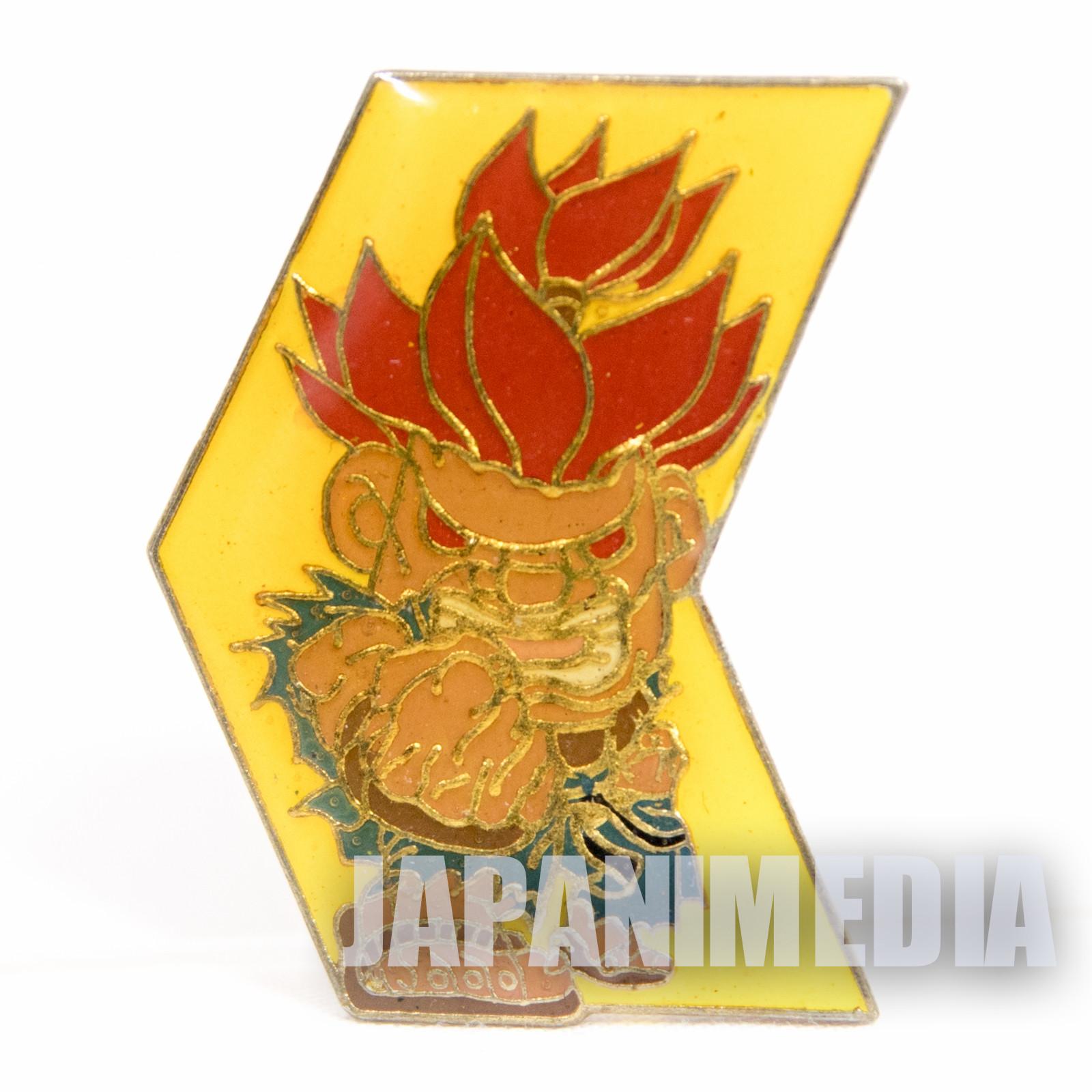 Street Fighter 2 Metal Pins Badge Gouki Akuma Capcom Character JAPAN GAME 3