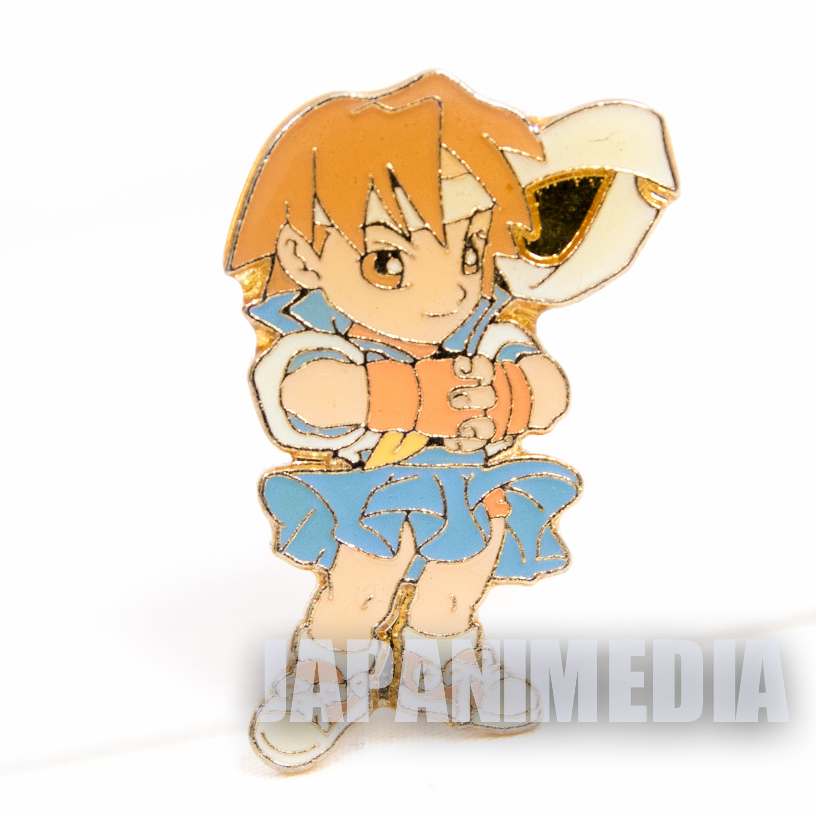 Street Fighter 2 Metal Pins Badge Sakura Capcom Character JAPAN GAME 1