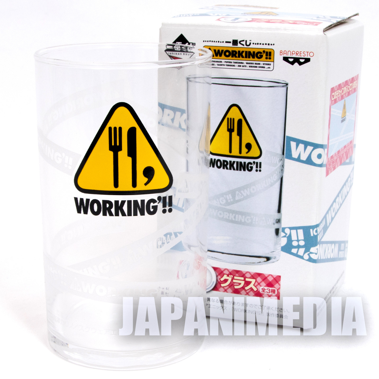 WORKING!! Glass Logo Mark ver. JAPAN ANIME MANGA