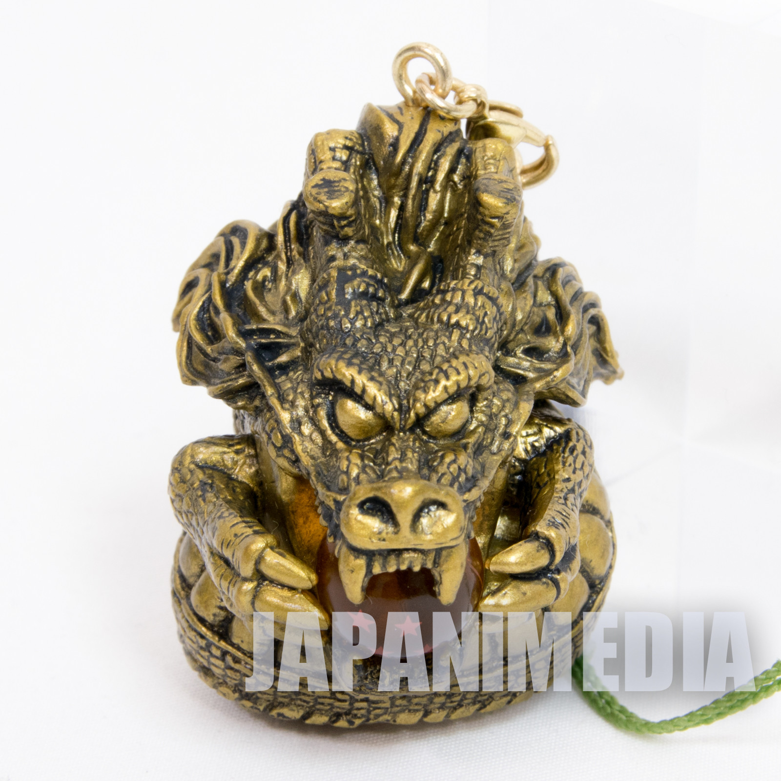 Dragon Ball Z Kai Shenron Strap Gold ver. Ichiban Kuji Banpresto JAPAN ANIME NO BOX