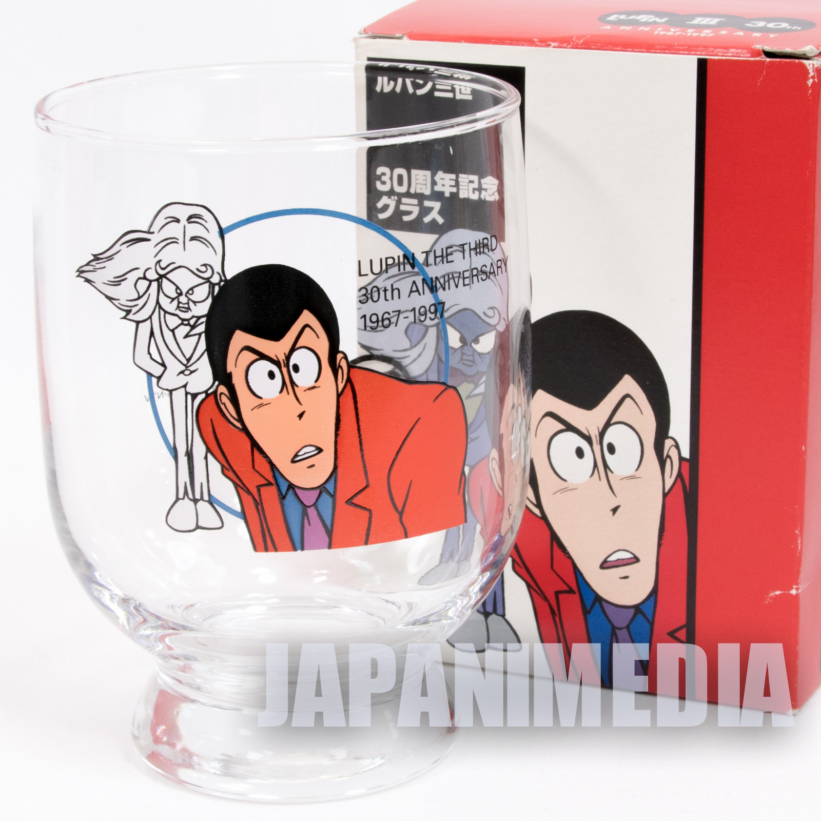 Lupin the Third (3rd) 30th Glass Lupin vs Clone Esso JAPAN ANIME