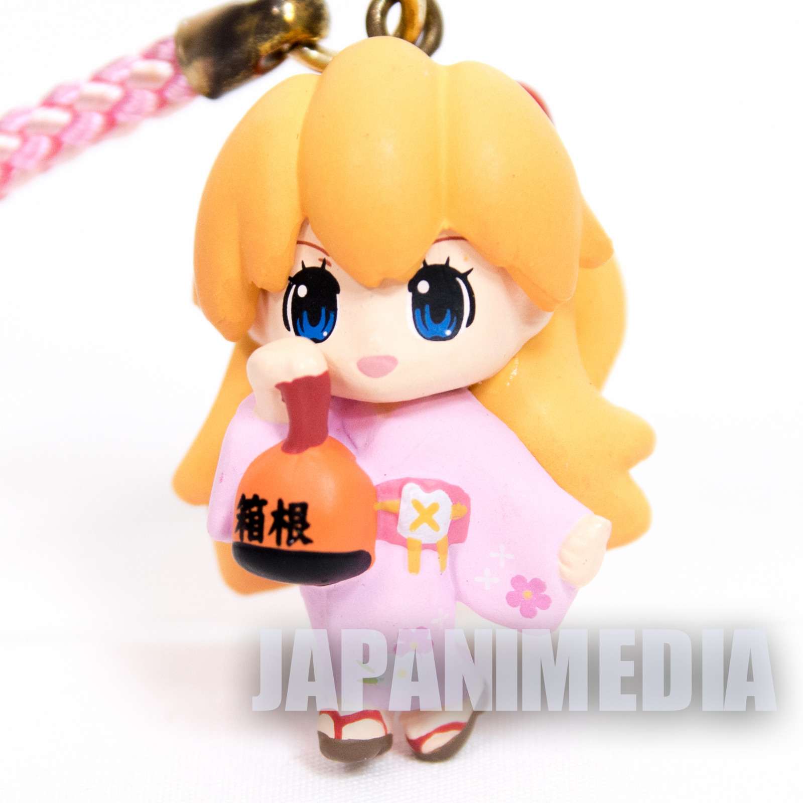 Evangelion Asuka Langley Kimono Figure Strap JAPAN ANIME