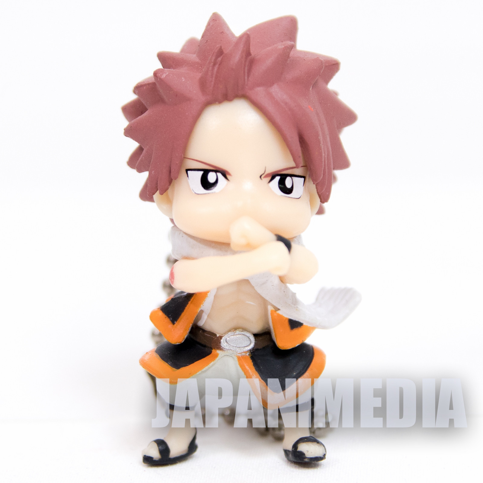 FAIRY TAIL Fairy Tail Natsu Dragneel Figure Ballchain JAPAN ANIME