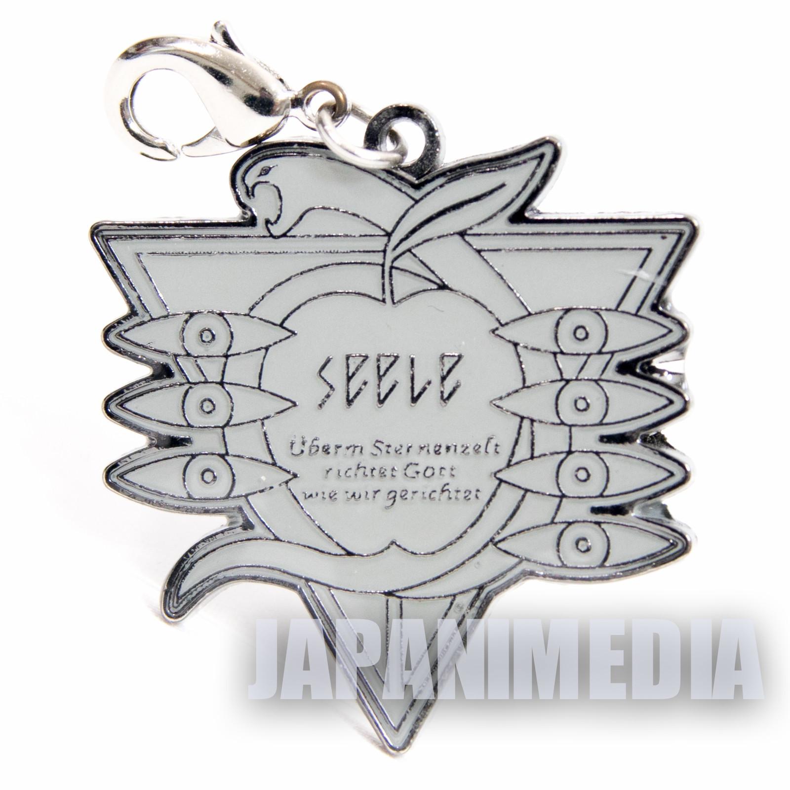 Evangelion Seele Logo Metal Mascot Charm JAPAN ANIME