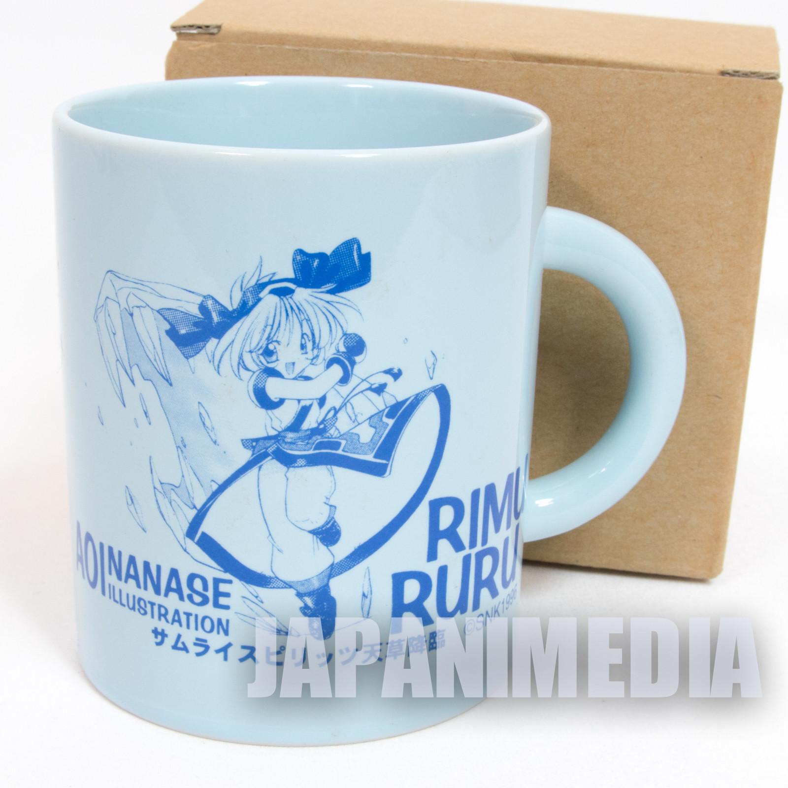 Samurai Shodown Rimururu Mug SNK JAPAN NEO GEO SPIRITS