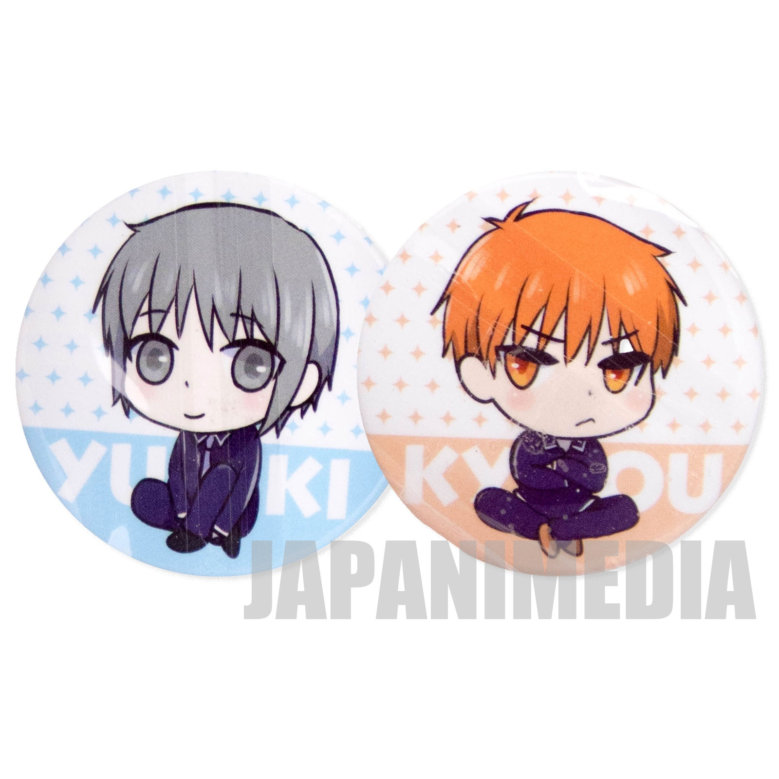Fruits Basket Yuki & Kyo W Can Magnet JAPAN ANIME MANGA