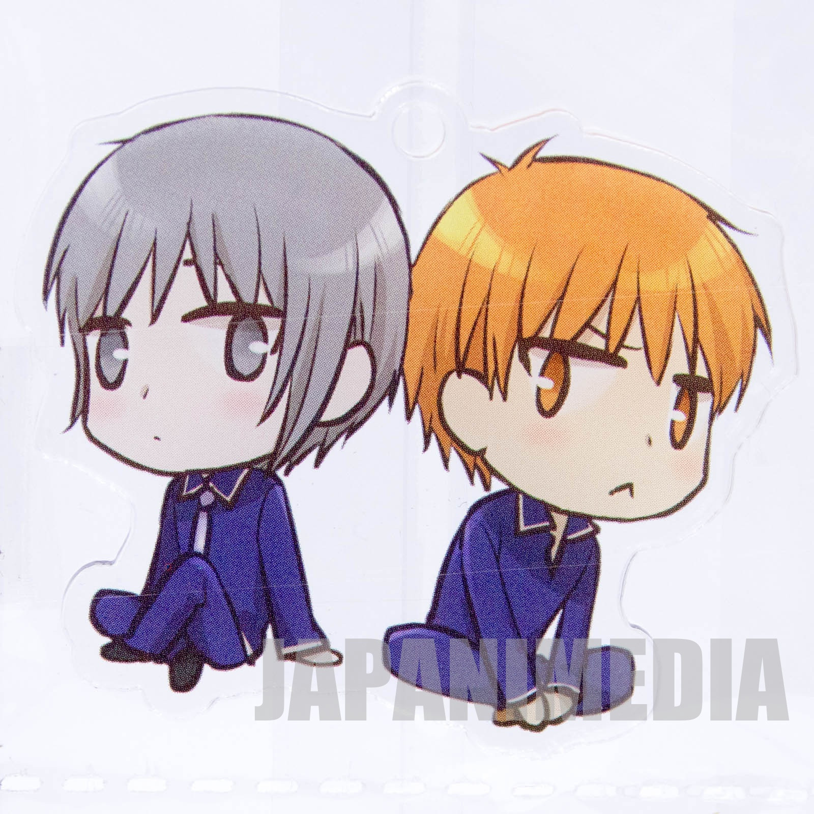 Fruits Basket Yuki & Kyo Acrylic Ball keychain JAPAN ANIME MANGA