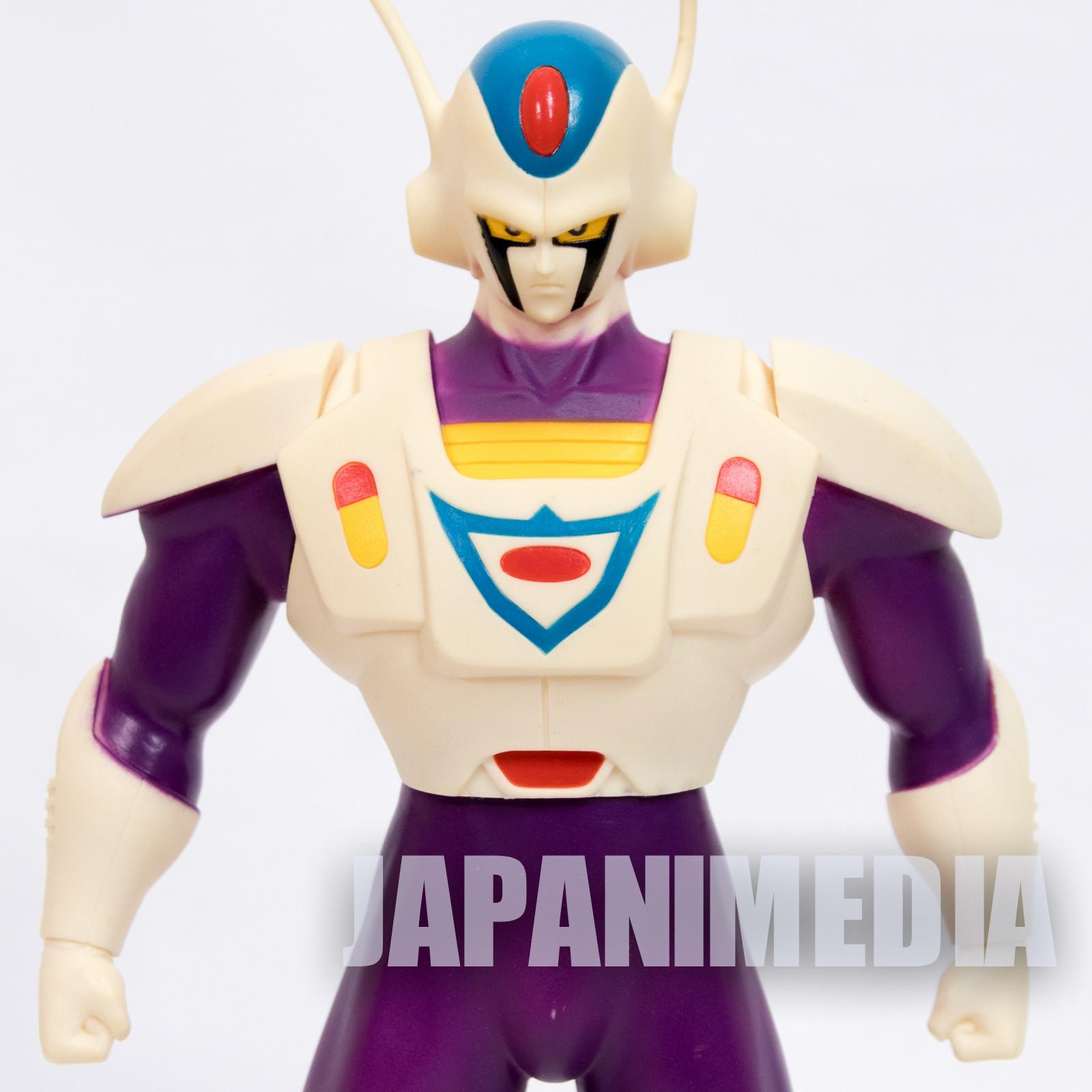 {DAMAGED} RARE! Chokin Senshi CASHMAN Soft Vinyl Figure Akira Toriyama JAPAN