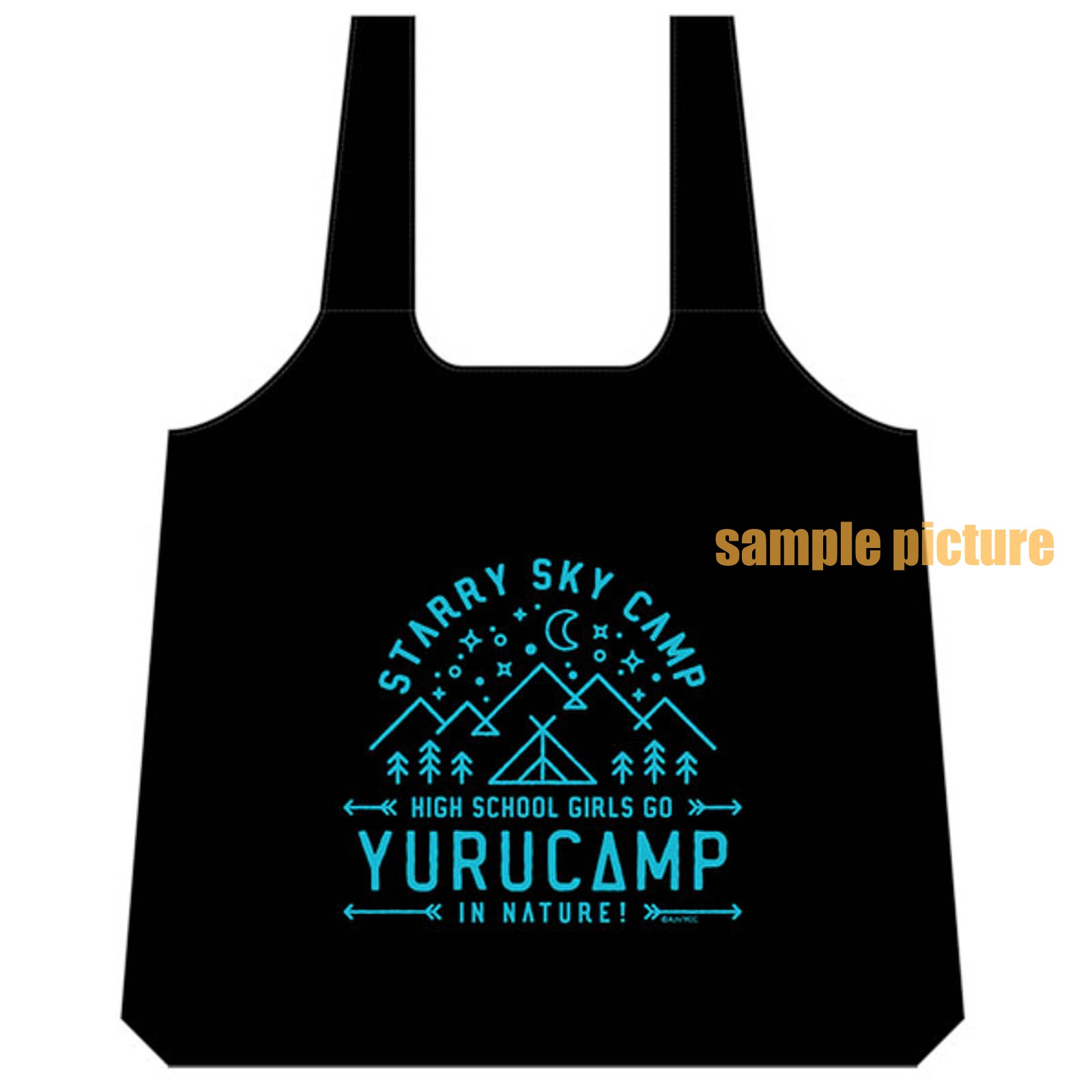 Yuru Camp Eco-bag (Reusable bag) JAPAN ANIME