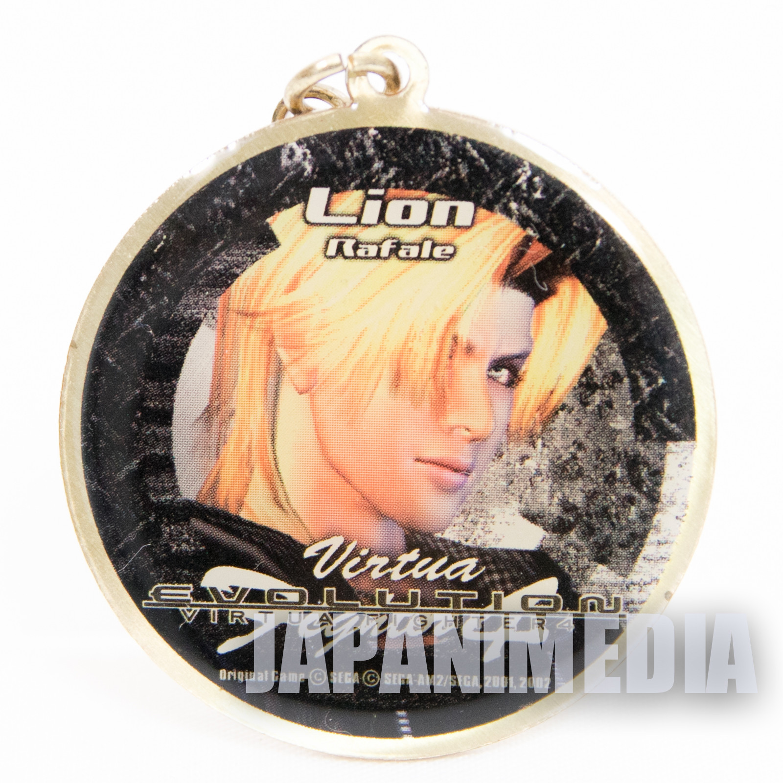 Virtua Fighter 4 Lion Rafale Metal Mascot Charm JAPAN GAME SEGA