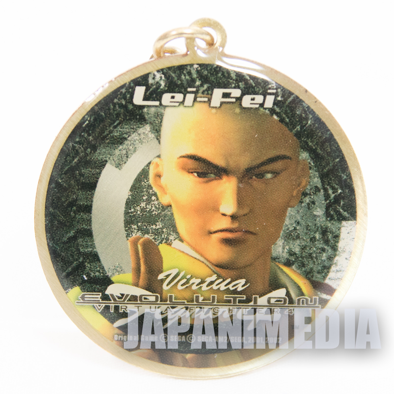 Virtua Fighter 4 Lei-Fei Metal Mascot Charm JAPAN GAME SEGA