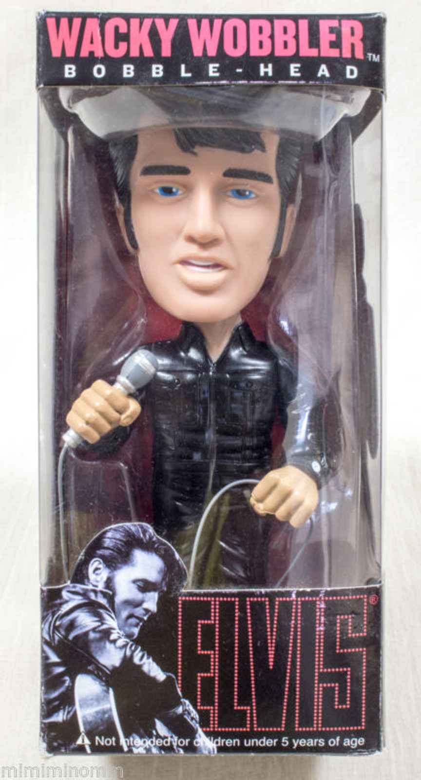Elvis Presley 68 Special Wacky Wobbler Bobble Head Figure Toy Doll Funko Rock