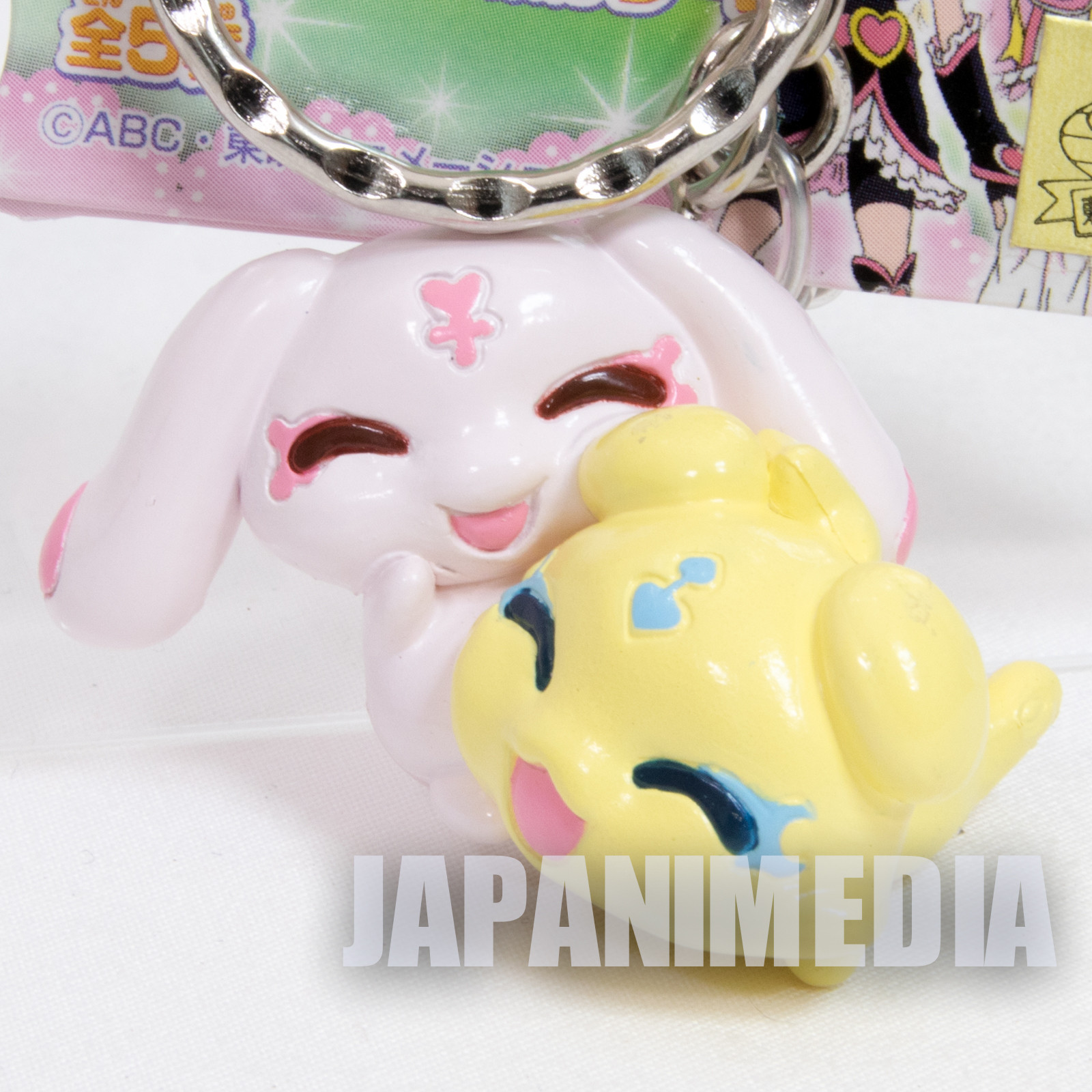 Futari wa Pretty Cure Mepple & Mipple Figure Keychain JAPAN ANIME