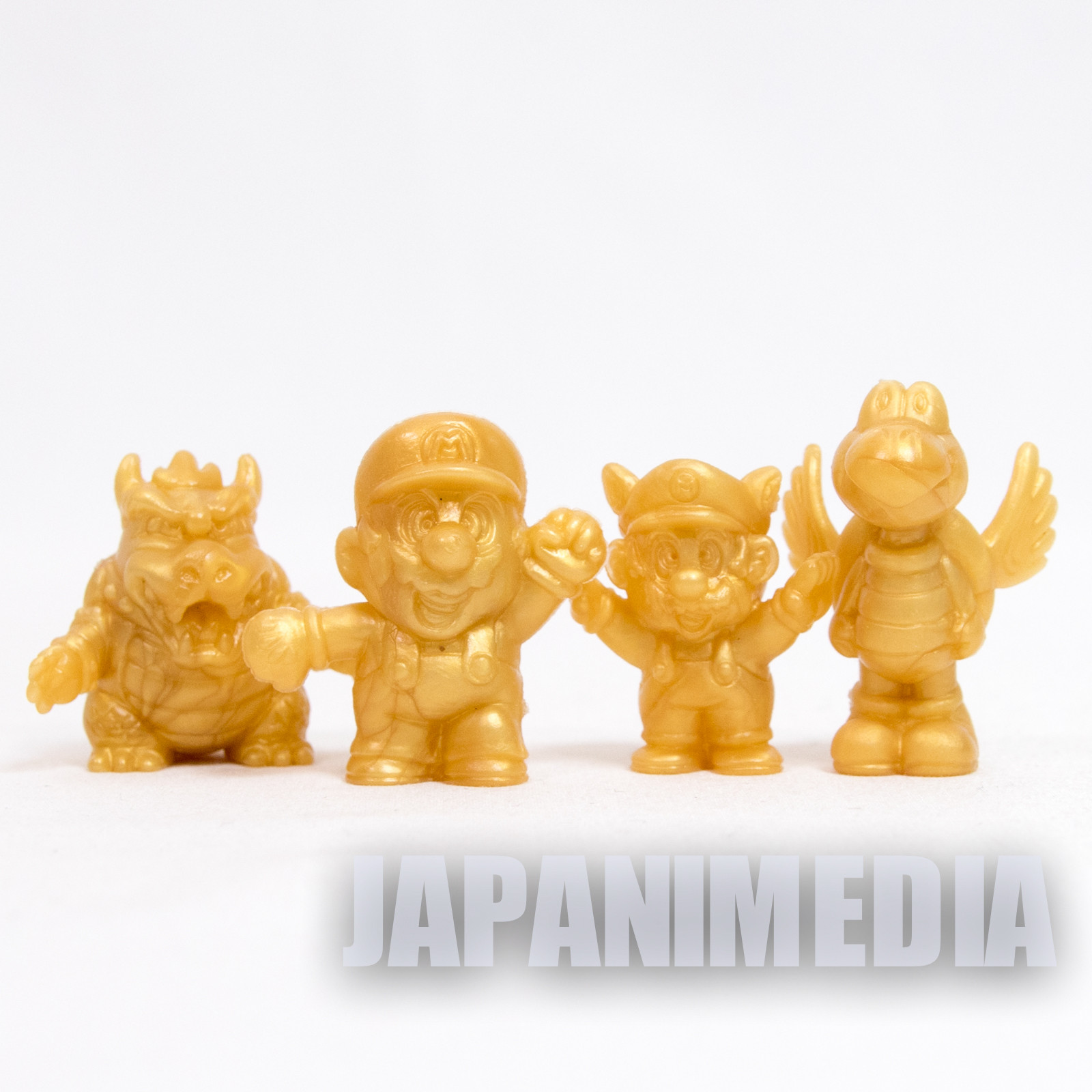 Retro Super Mario Mini Figure 4pc Set Nintendo JAPAN