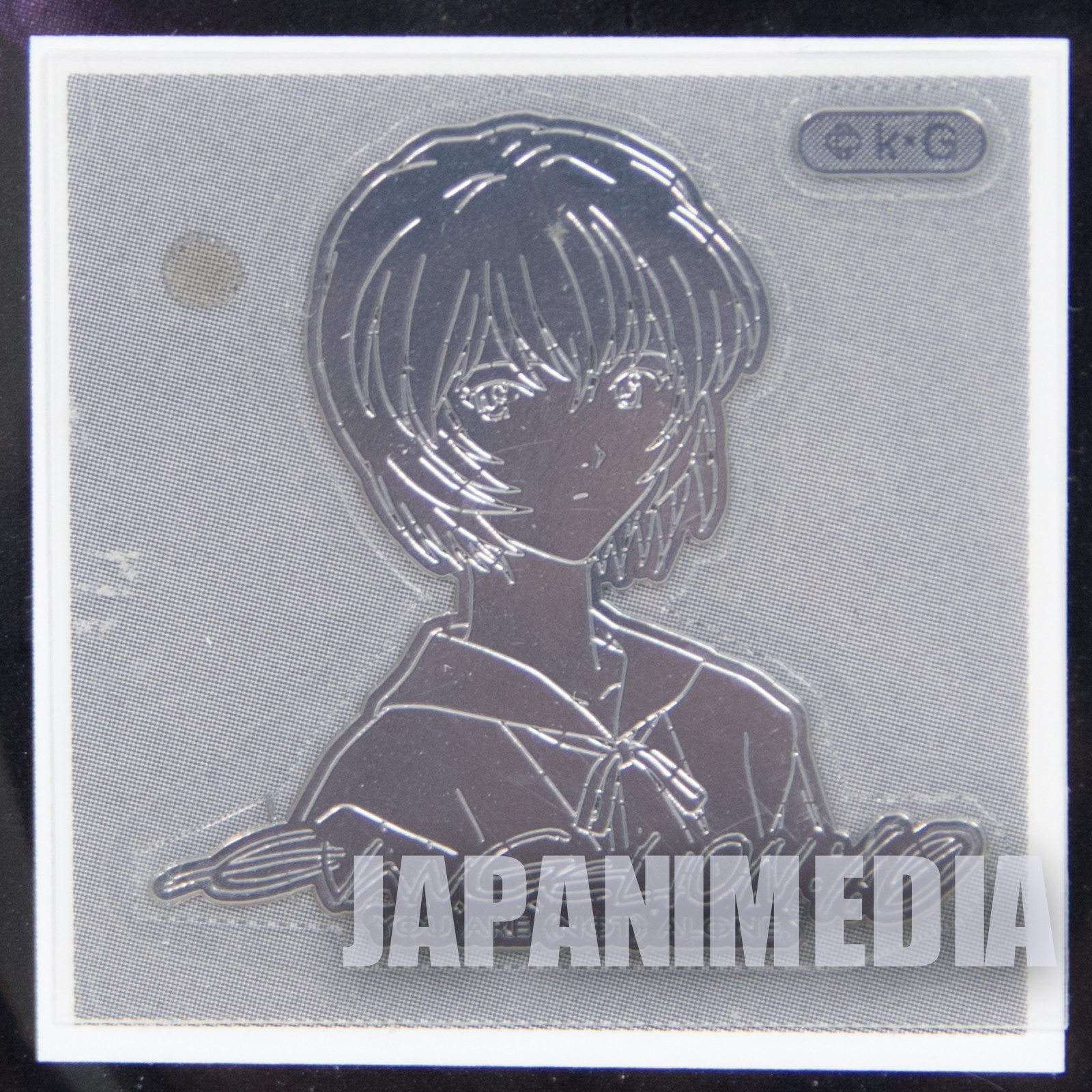 Evangelion Rei Ayanami DecoMeta Sticker BANDAI JAPAN ANIME